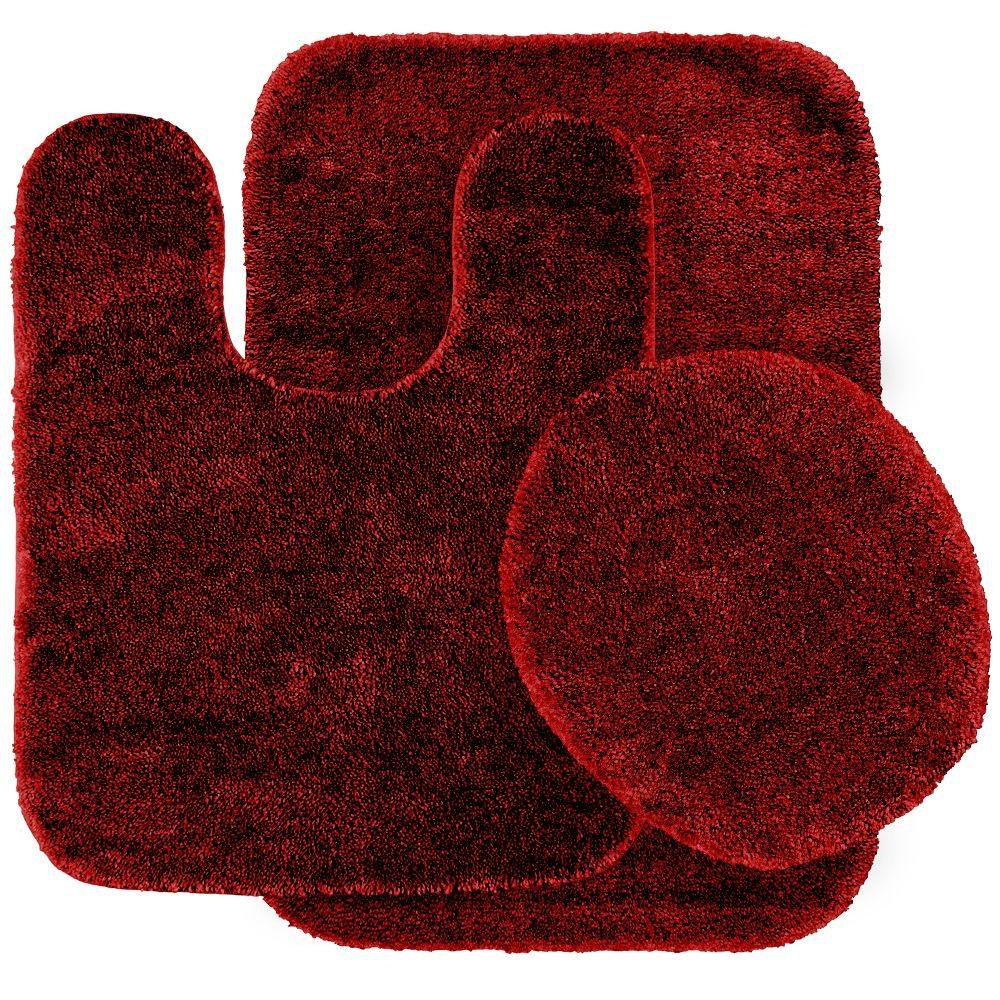 Bath Mat Sets Red