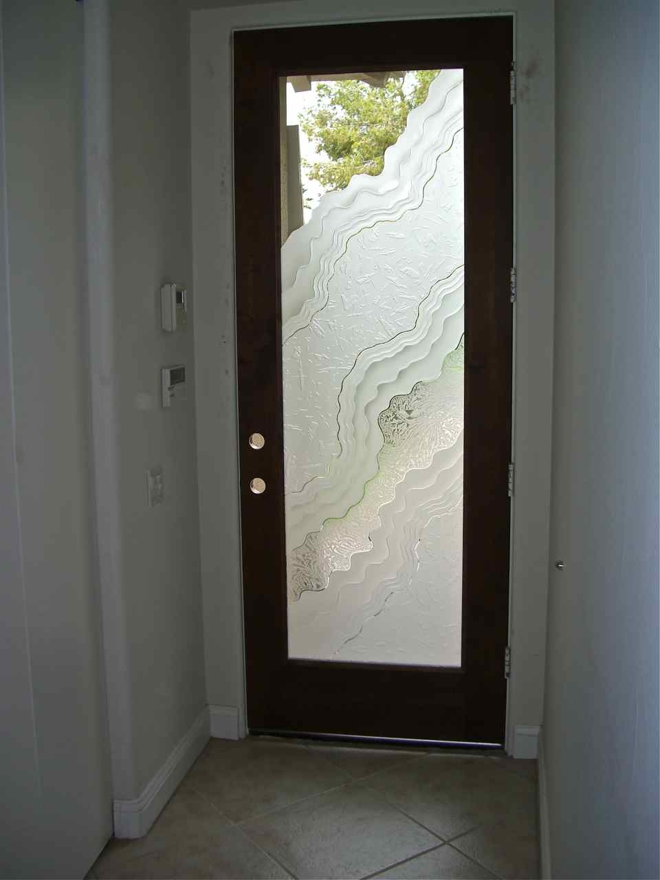 Bathroom Entry Door