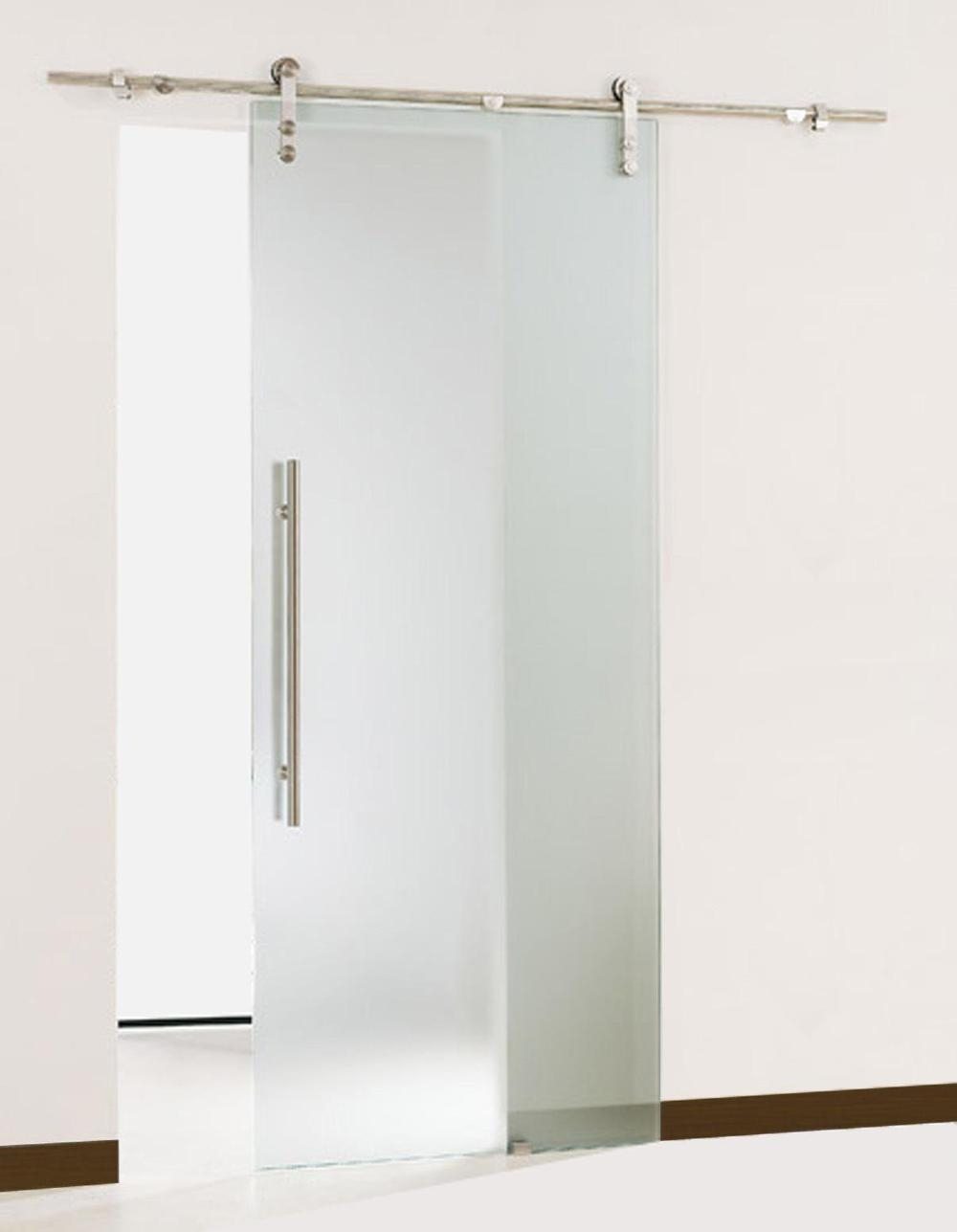Permalink to Bathroom Glass Barn Doors