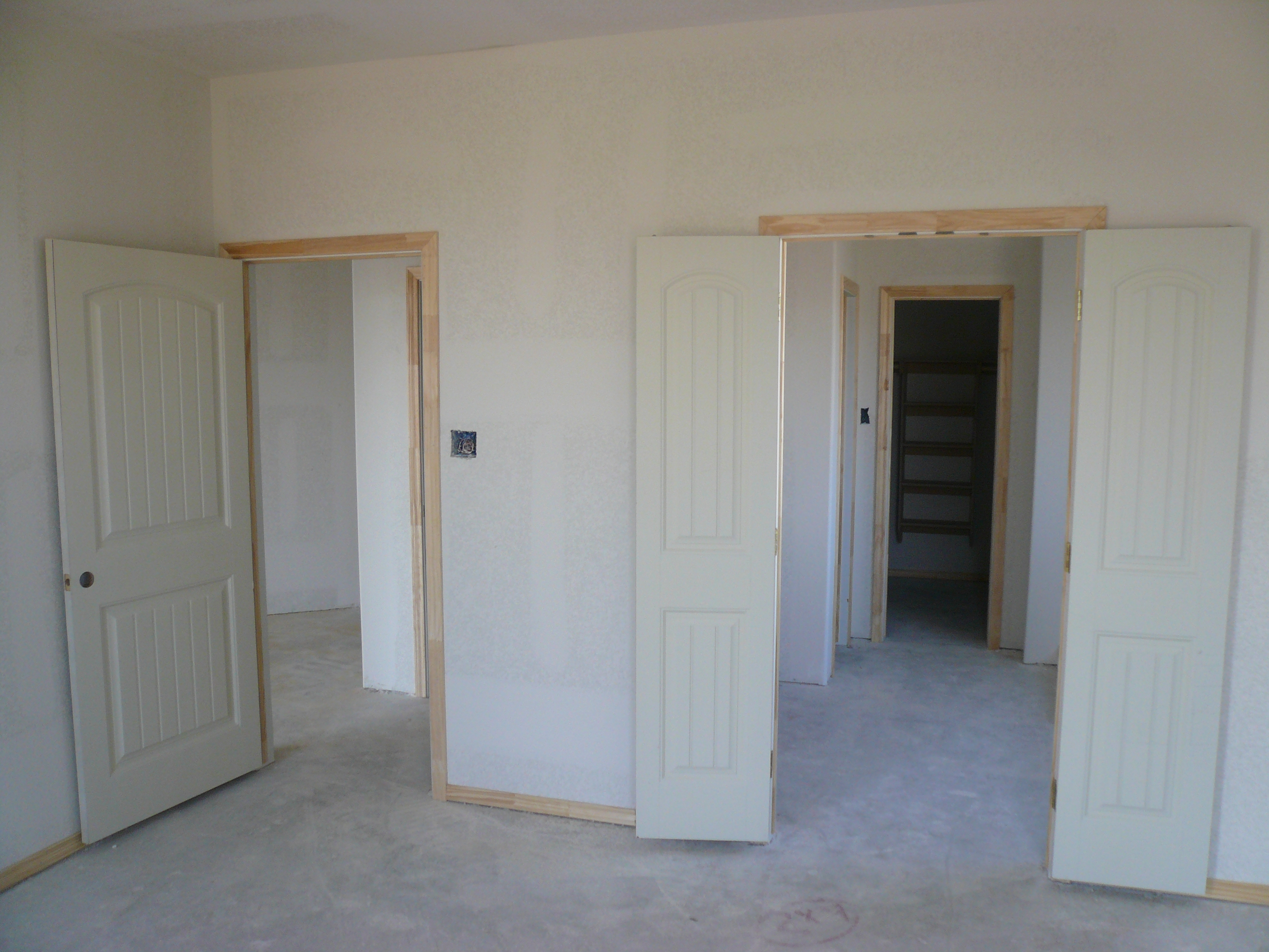 French Doors For Bathroom Entry
