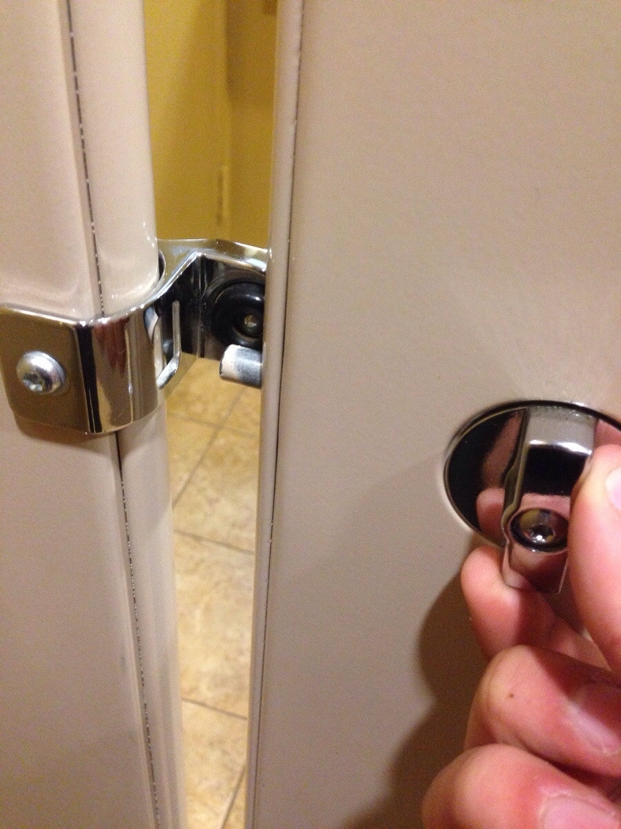 I Accidentally Locked My Bathroom Door From The Inside