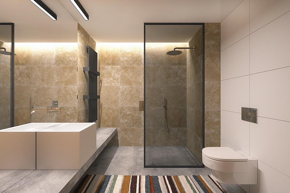 Modern Bathroom Materials