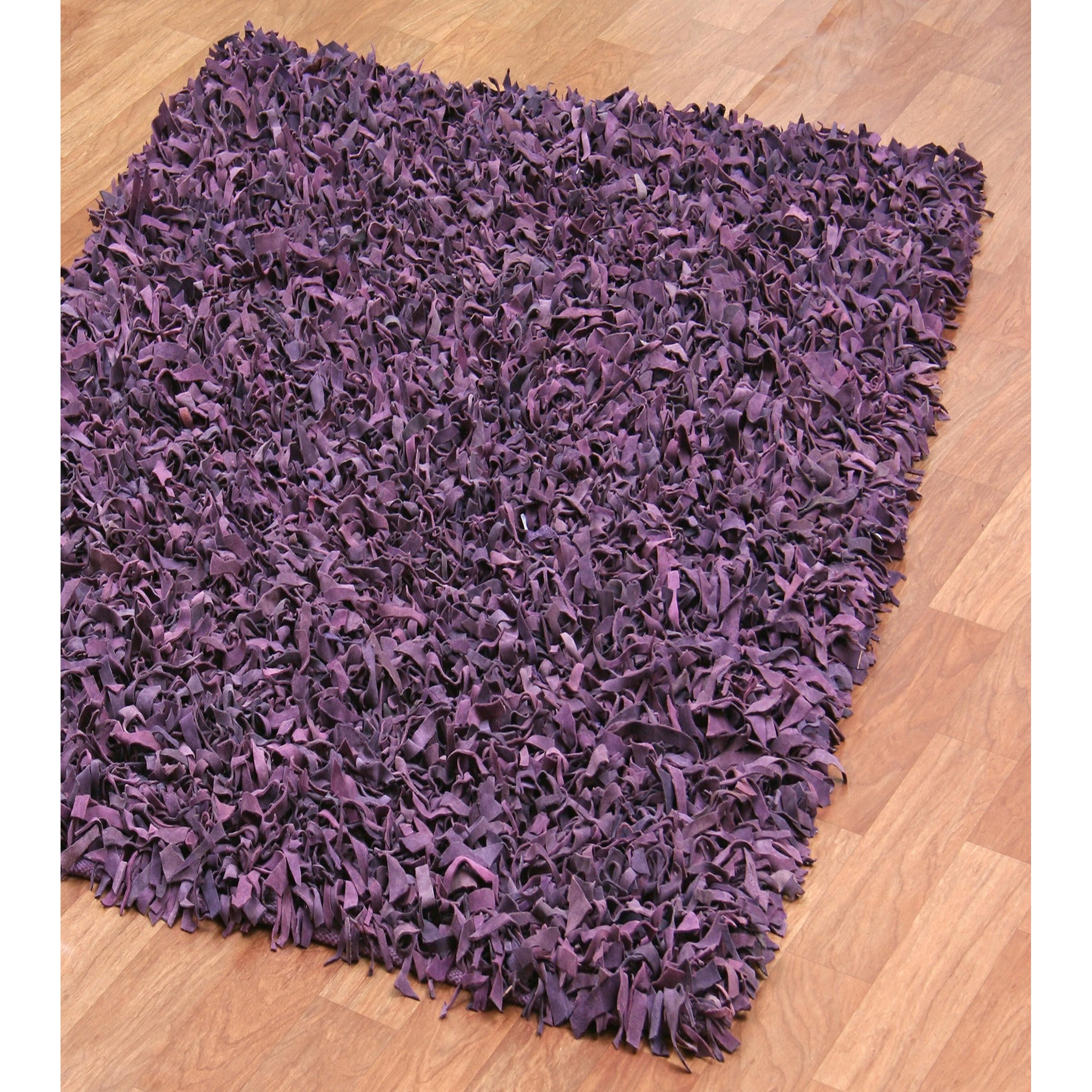 Plum Colored Bath Mat