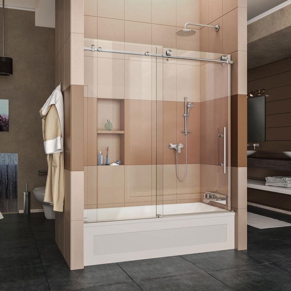 Sliding Glass Shower Doors For Bathtubsframeless bathtub doors shower doors showers bath the