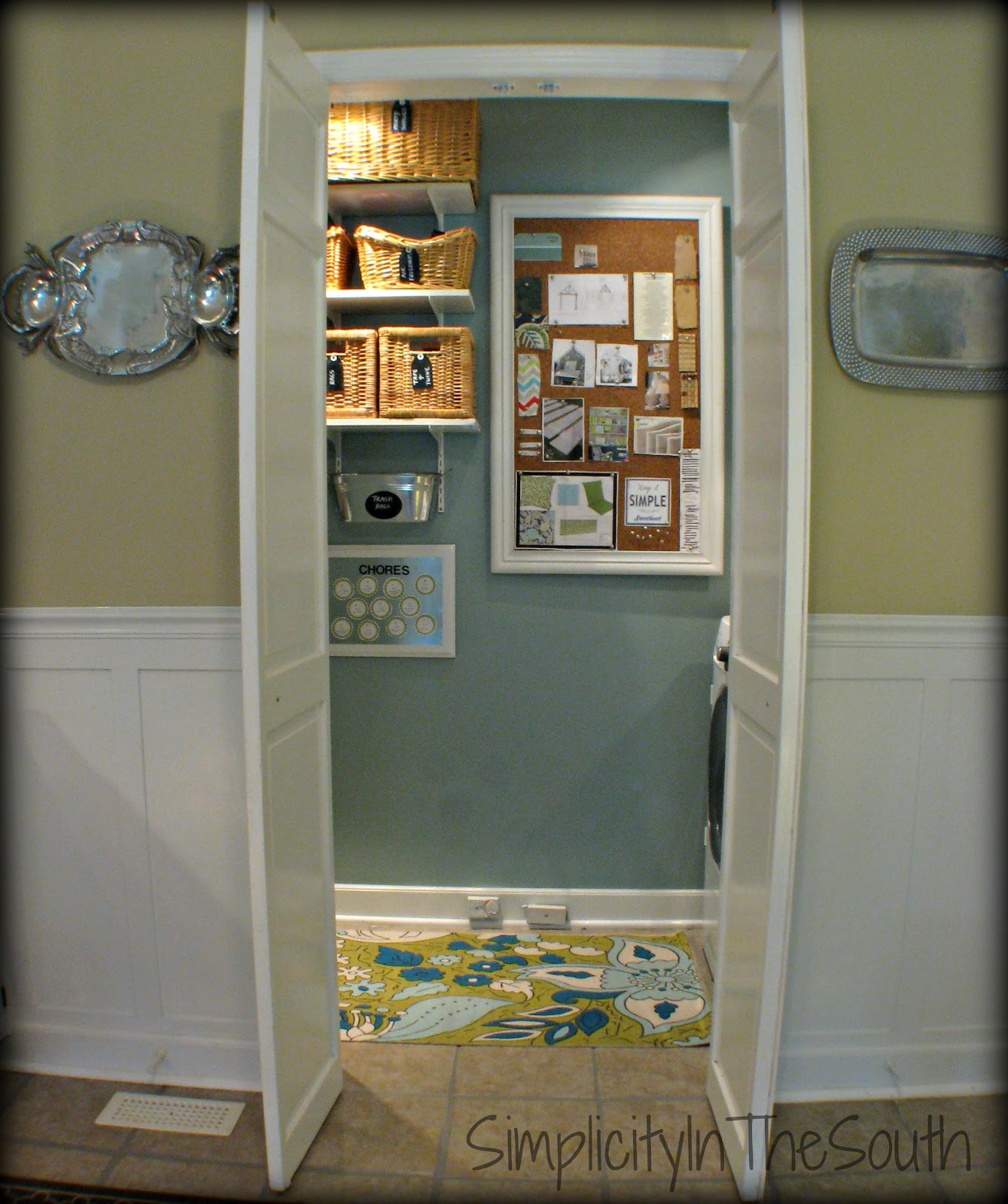 Small Bathroom French Doors