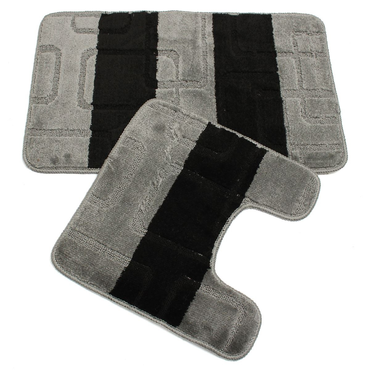 Striped Bathroom Mat Sets1200 X 1200