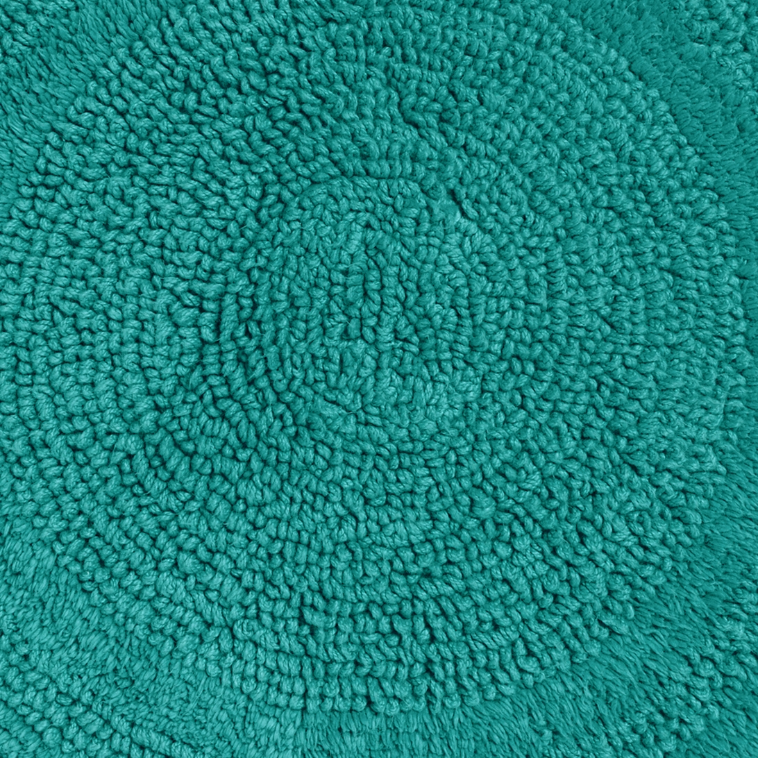 Aqua Colored Bath Mats