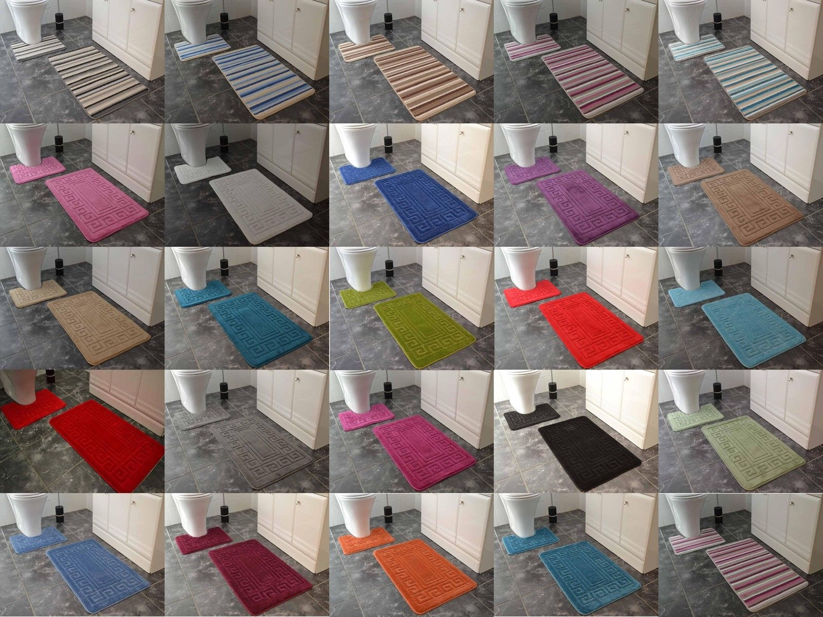 Are Rubber Backed Bath Mats Machine Washable