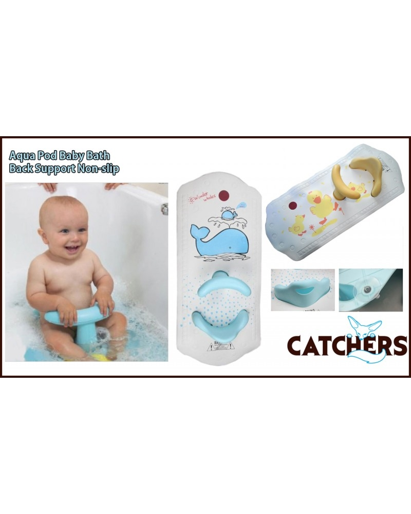 Baby Bath Mat With Back Support