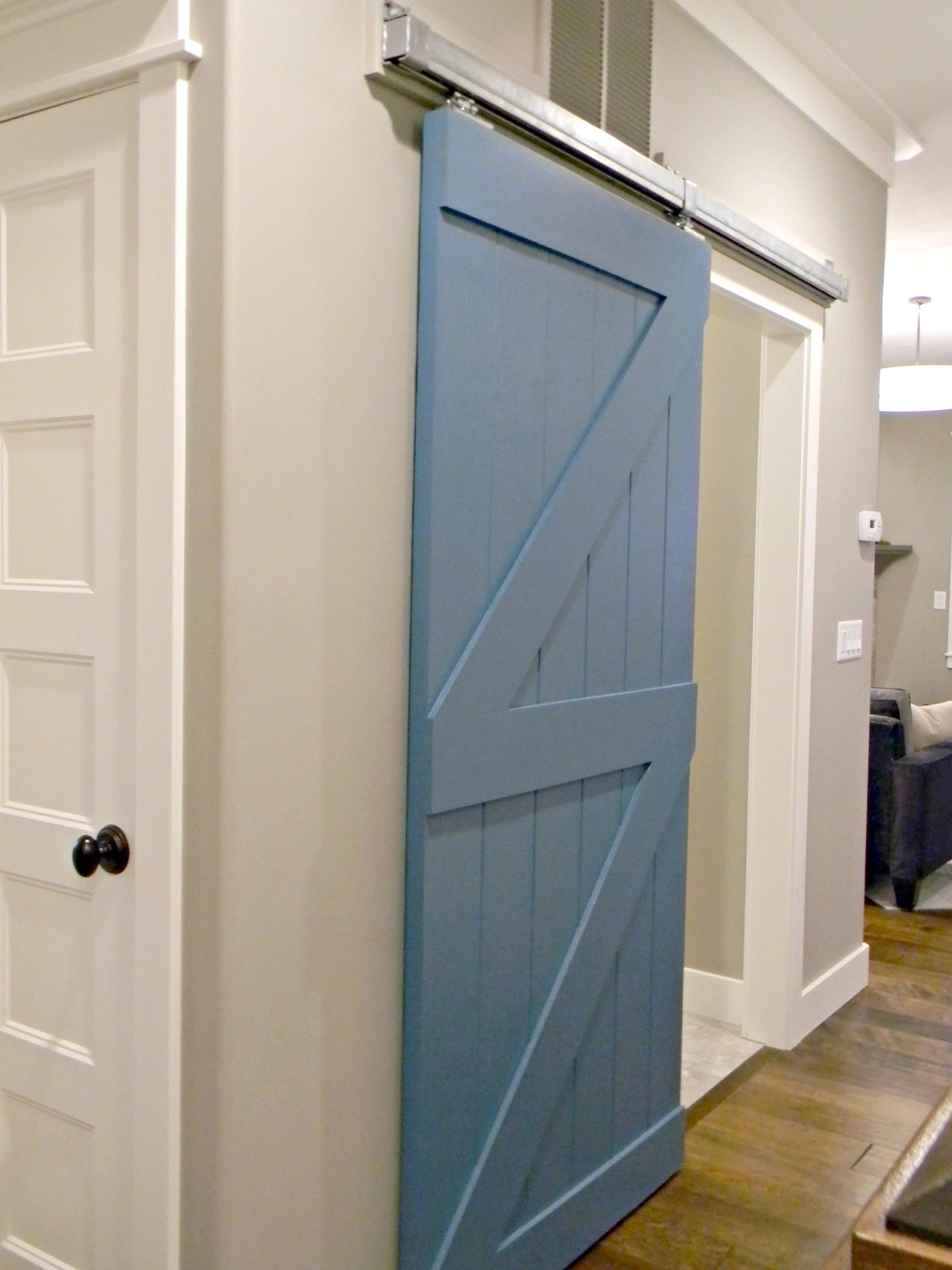 Barn Door Sliding Bathroom