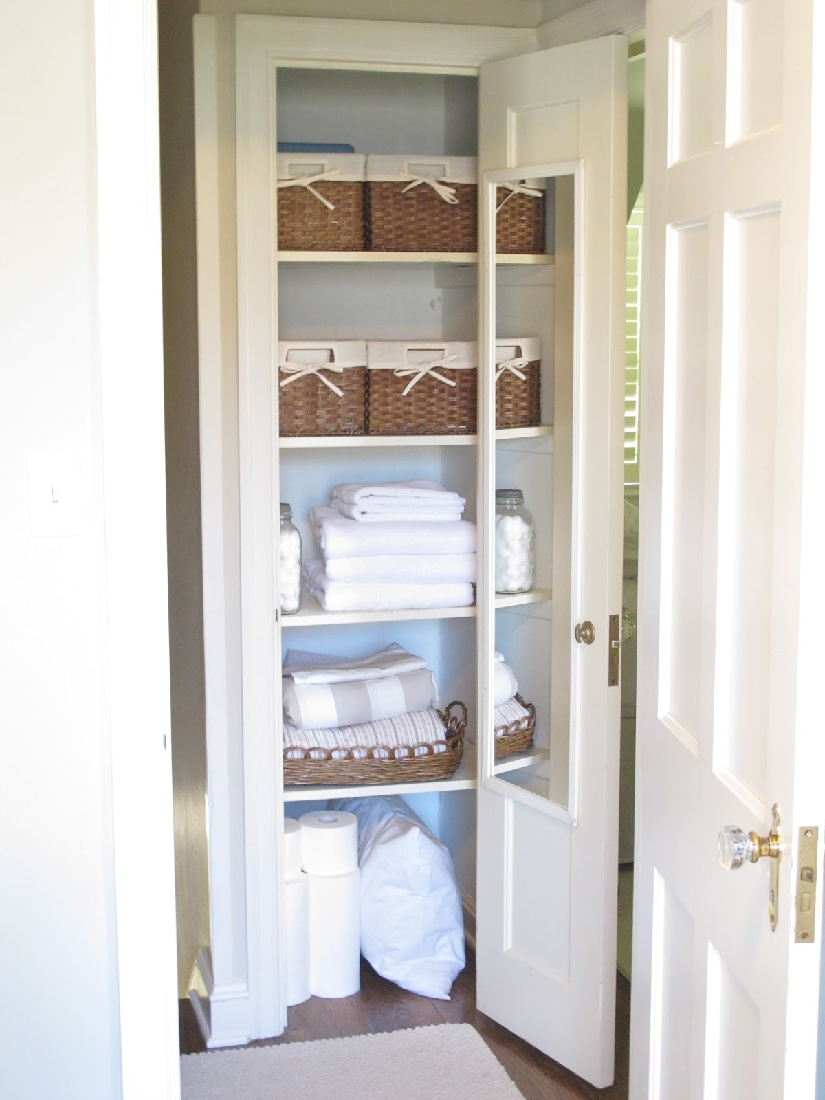 Bathroom Closet Doors Ideas