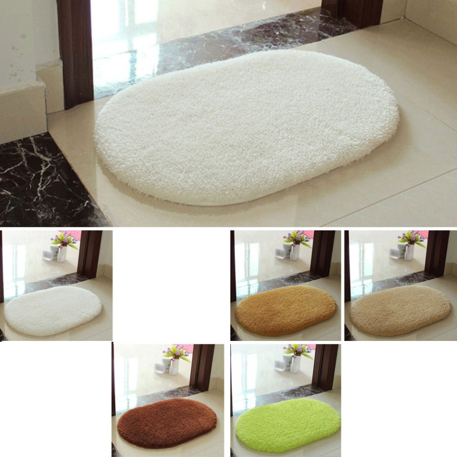 Bathroom Mats Without Rubber Backing