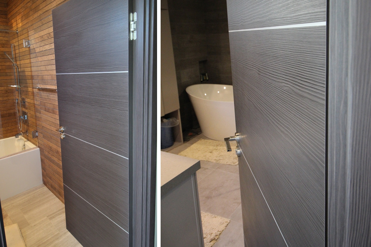 Contemporary Bathroom Doors