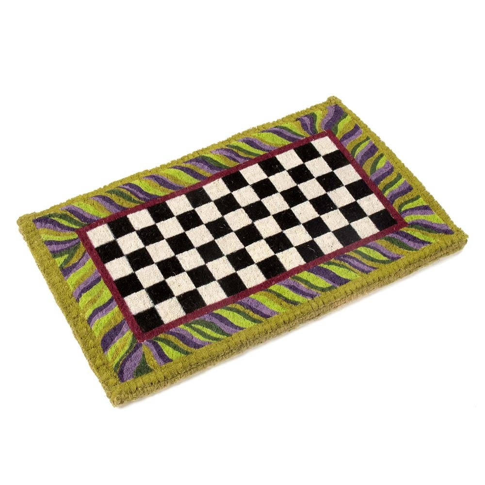 Courtly Check Bath Mat