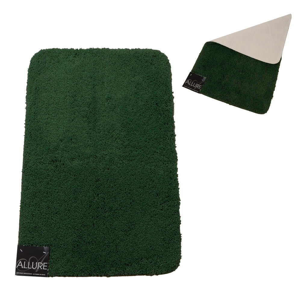 Dark Green Bath Mats