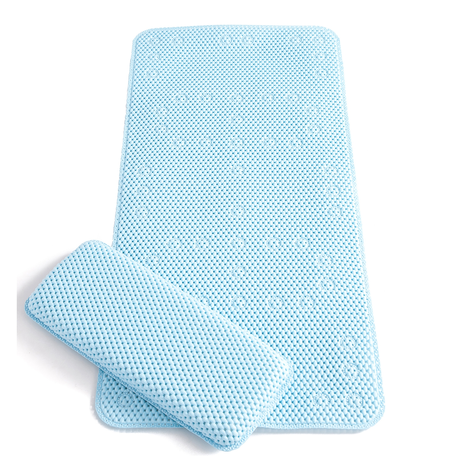 Permalink to Extra Long Bath Mat Blue