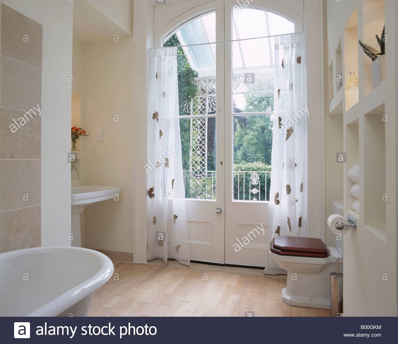 French Doors For A Bathroom