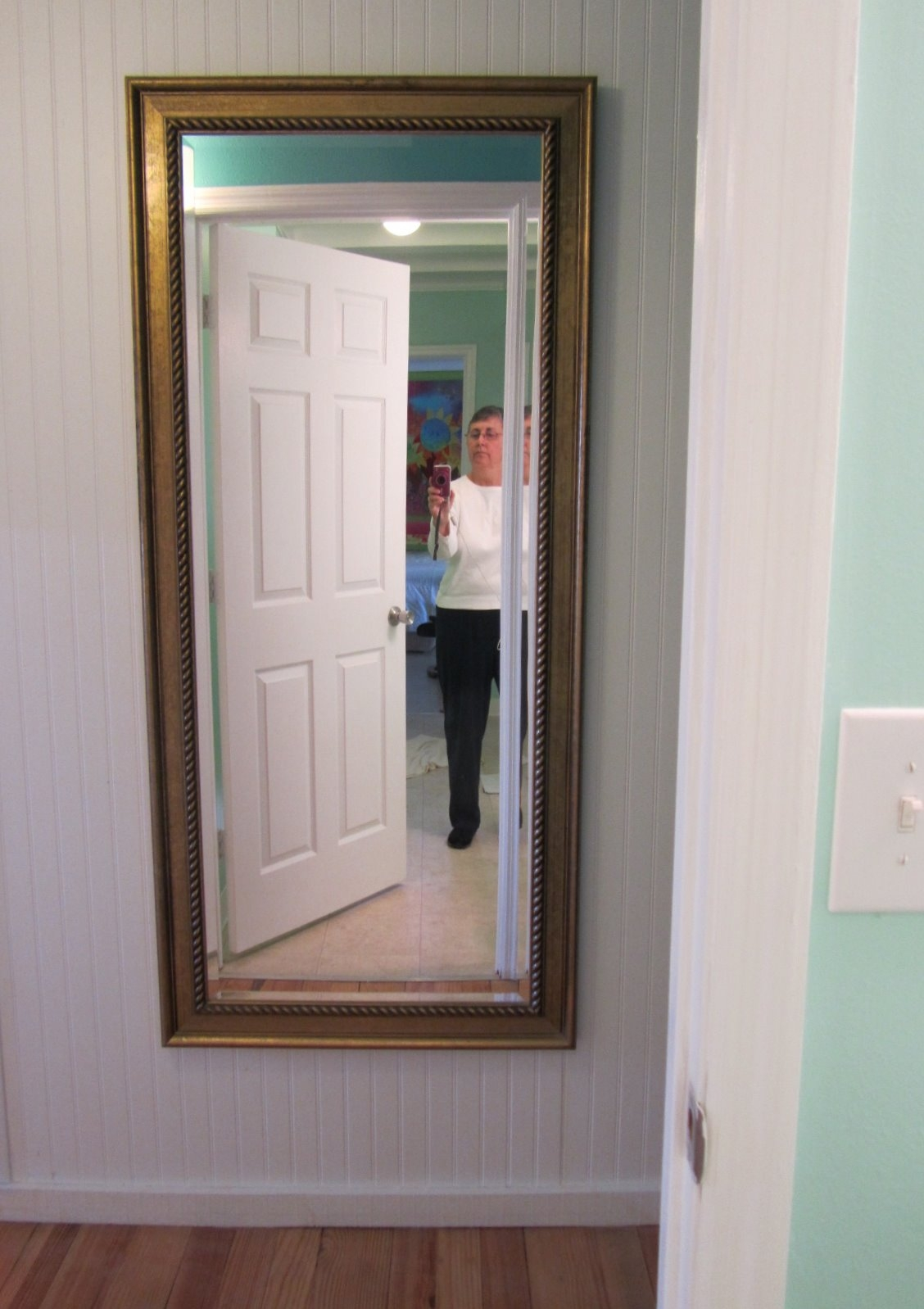 Mirror Outside Bathroom Door