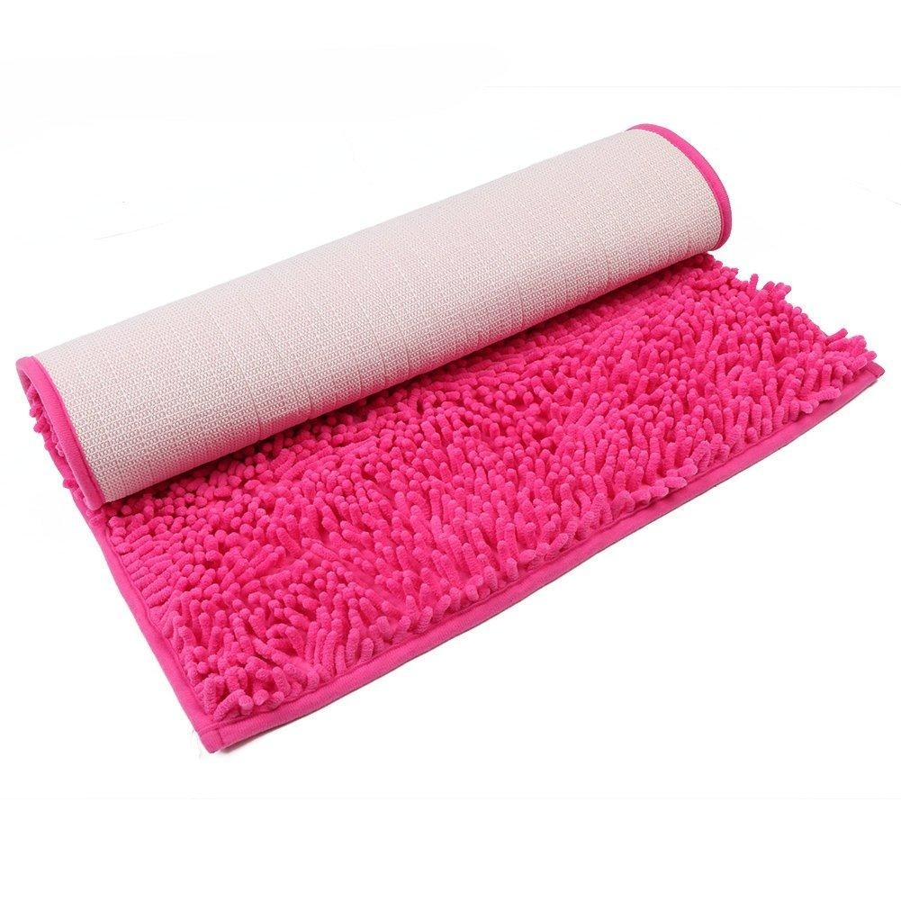 Non Slip Bath Mat Red