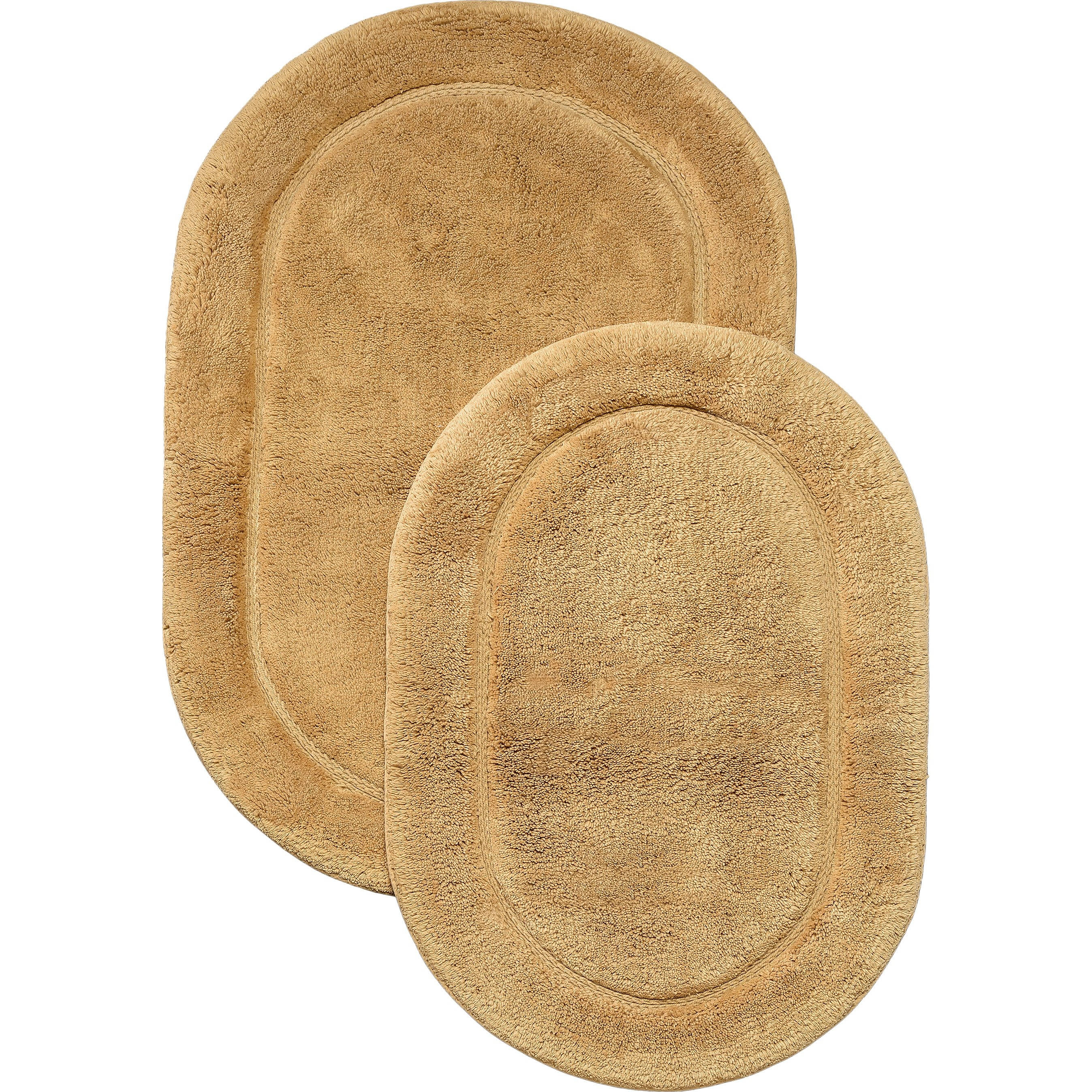 Oval Bath Mat Set
