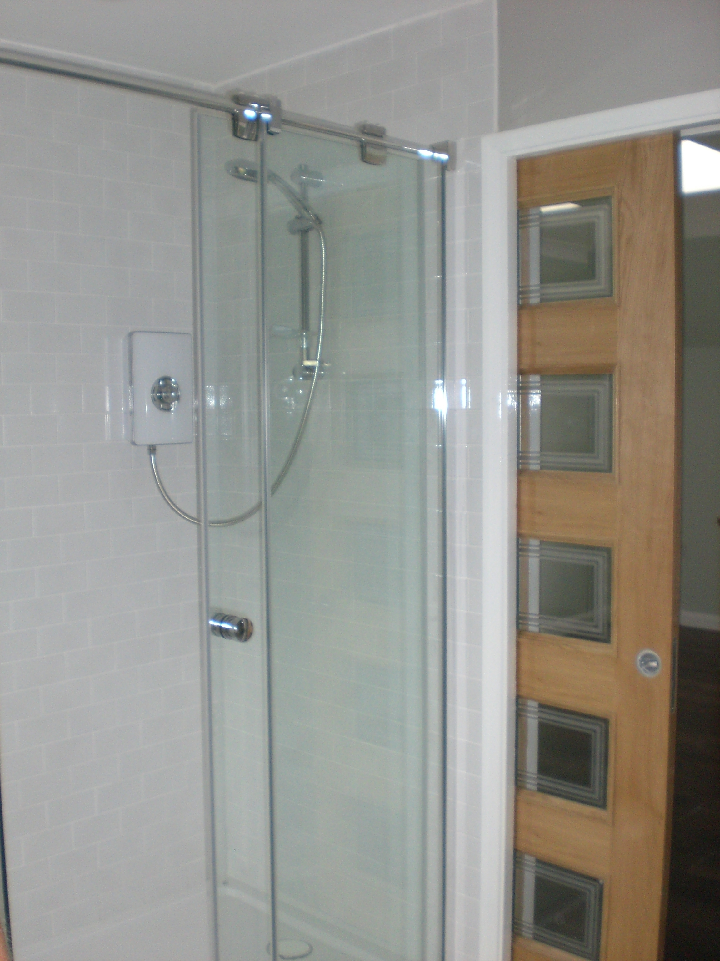 Pocket Door For Shower