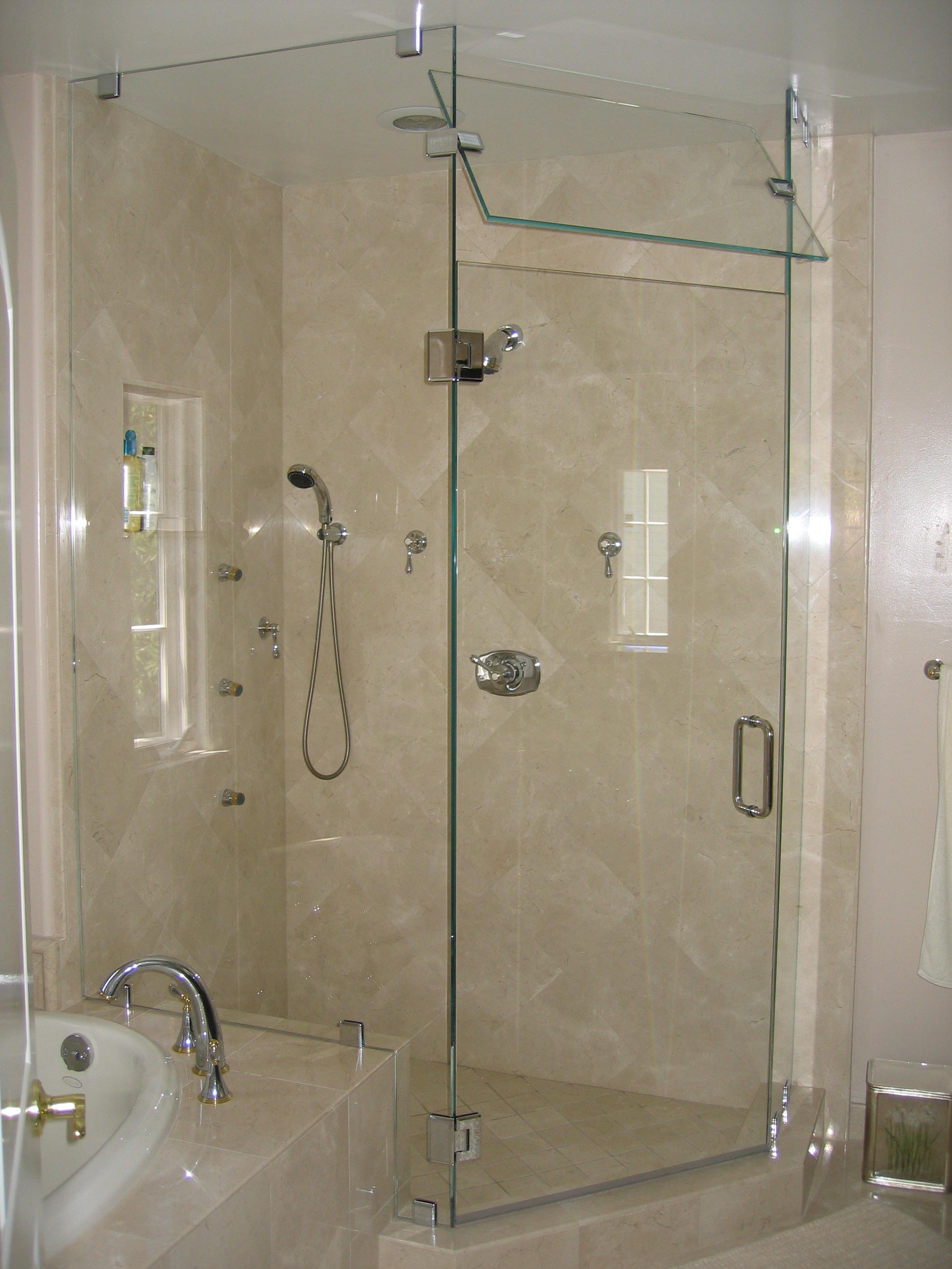Shower Door Glass Types