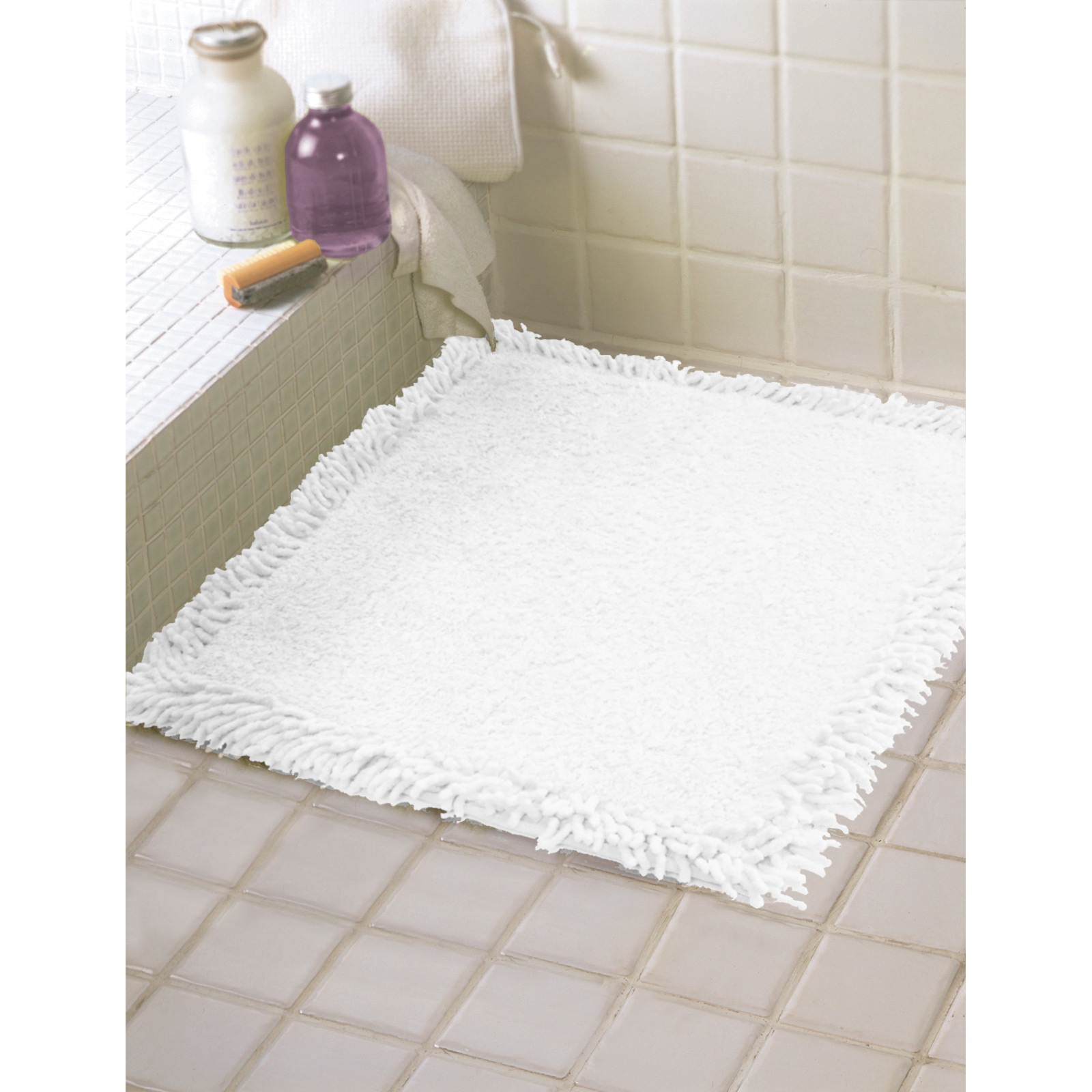 Small Bath Mat White