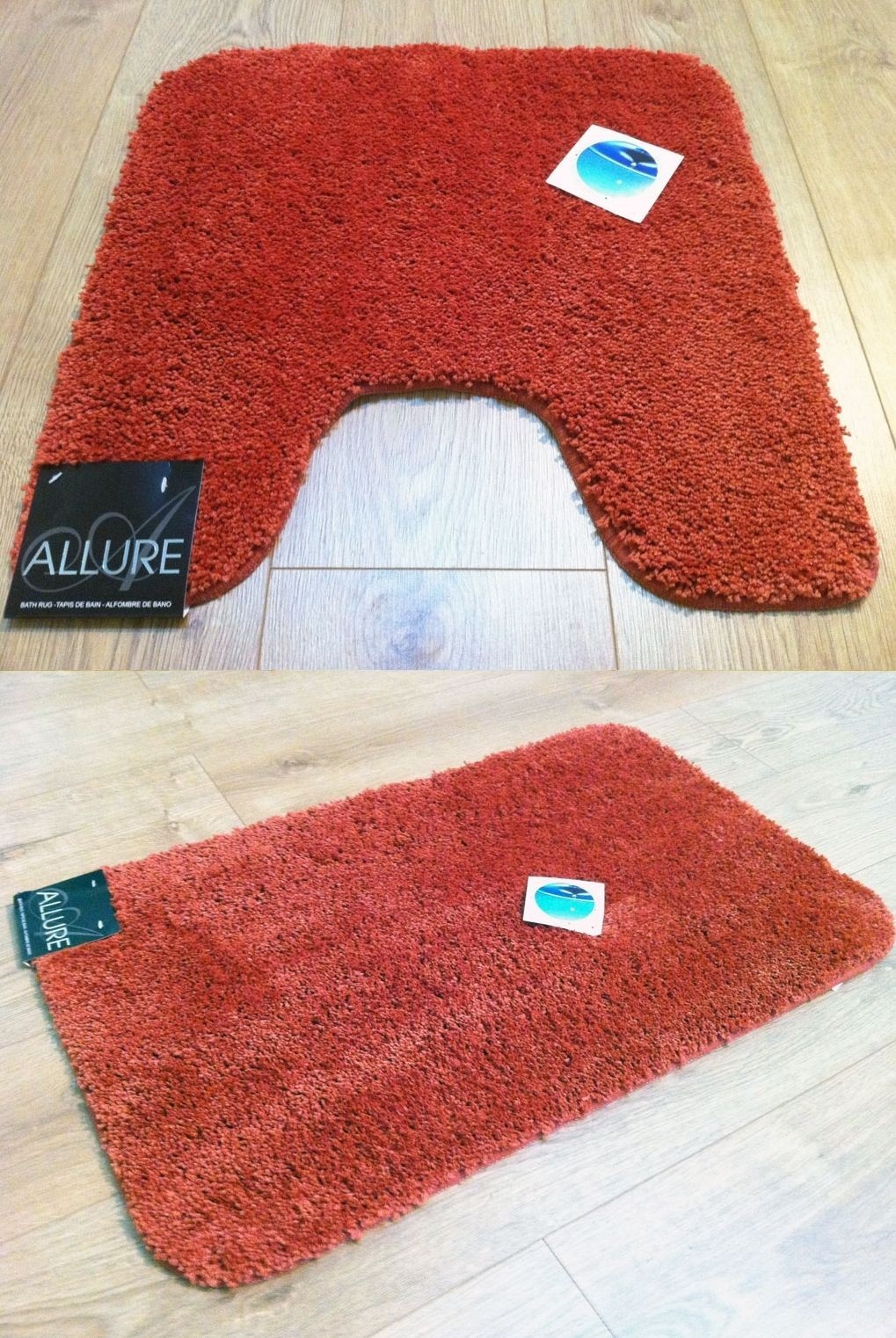 Washing Bath Mats With Rubber Backing