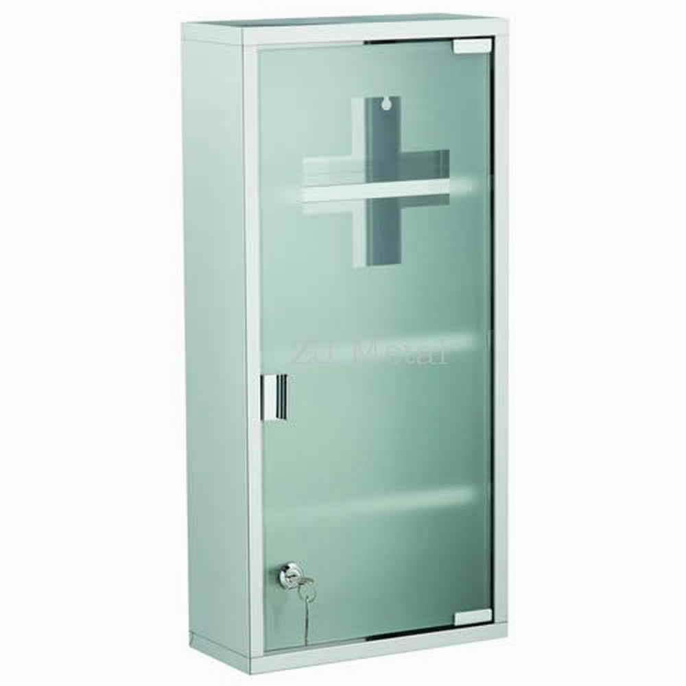 Permalink to Bathroom Cabinet With Glass Doors