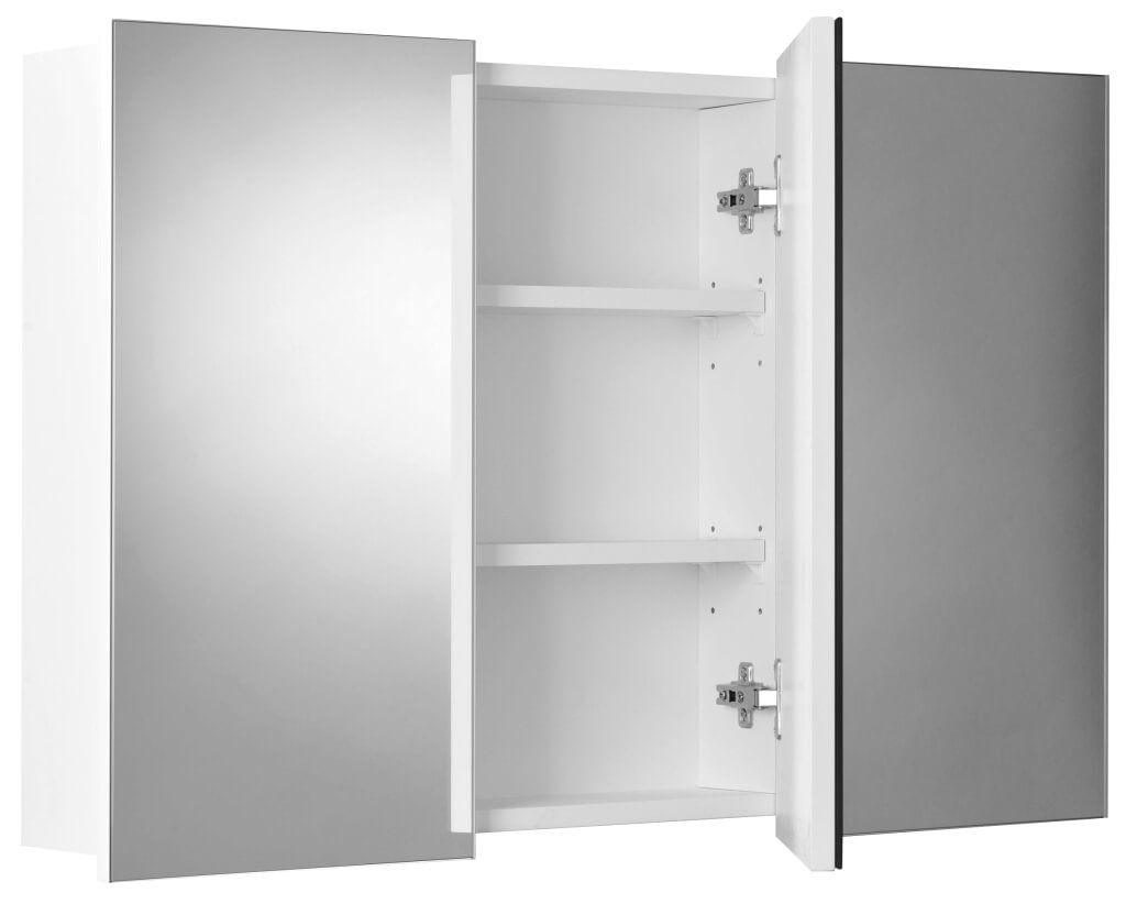 Permalink to Bathroom Cabinets With Mirrored Doors