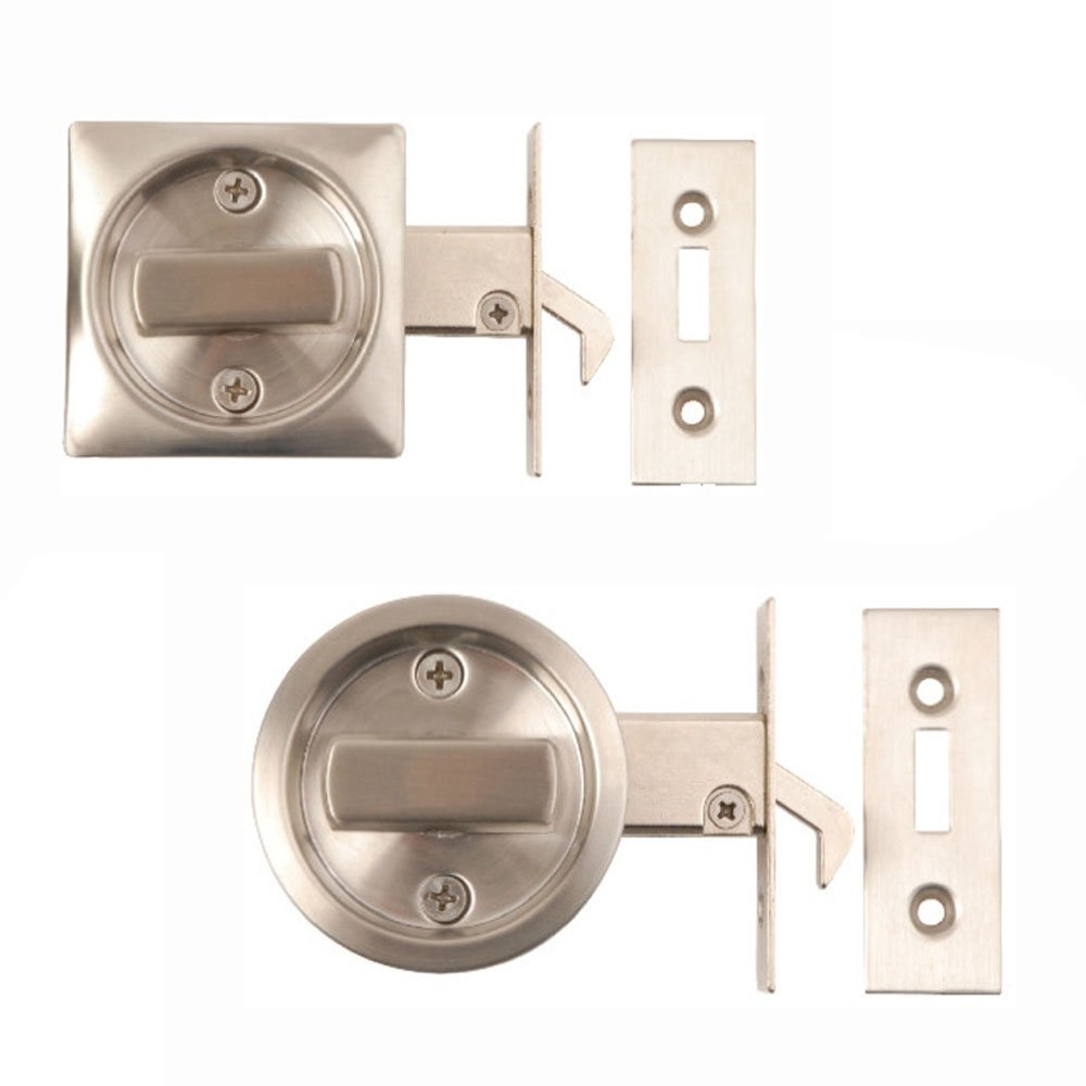 Bathroom Sliding Door Latchpocket door latch deltana solid brass pocket door jamb bolt in