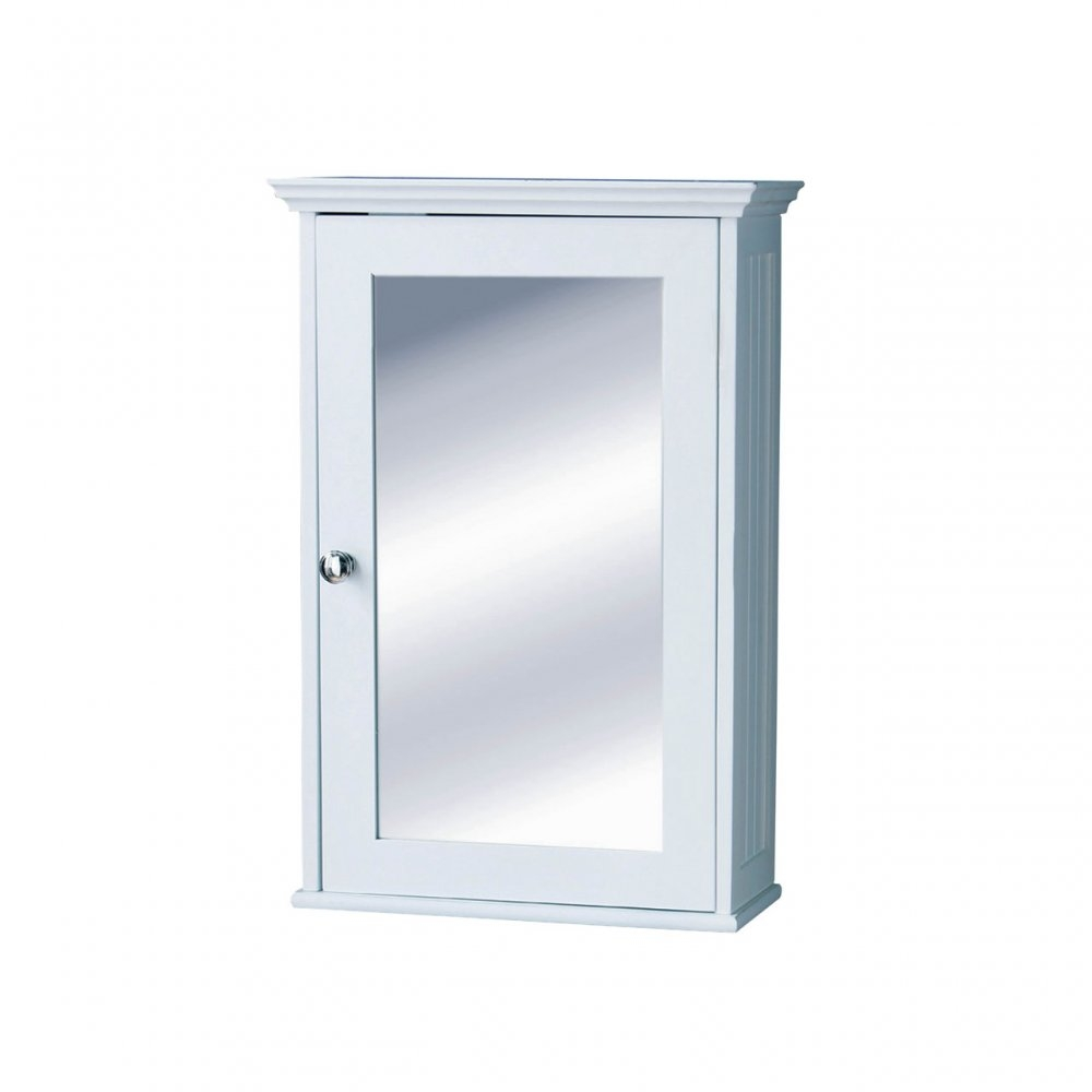 Bathroom Wall Cabinet With Mirrored Door