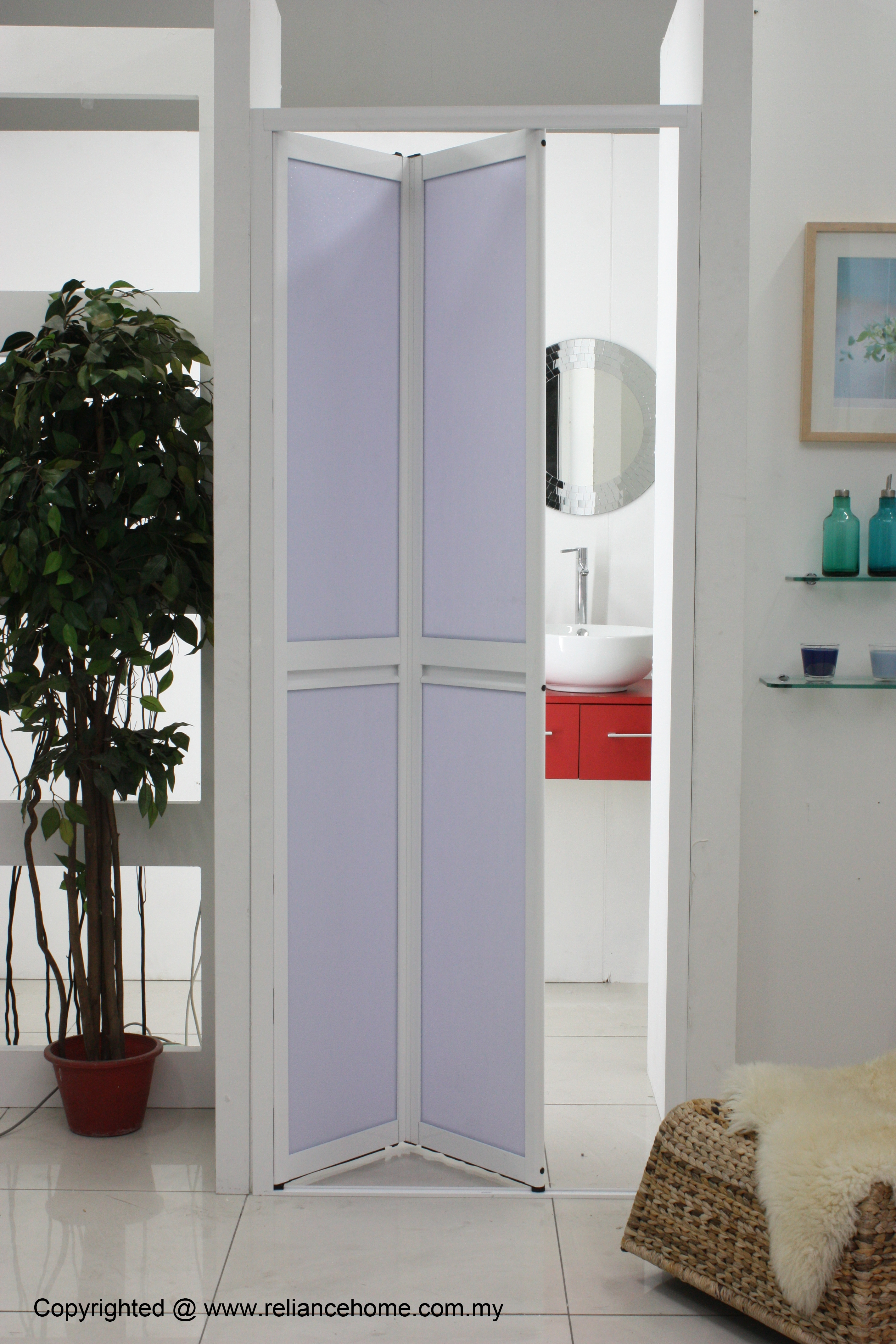 Bi Fold Door For Small Bathroom