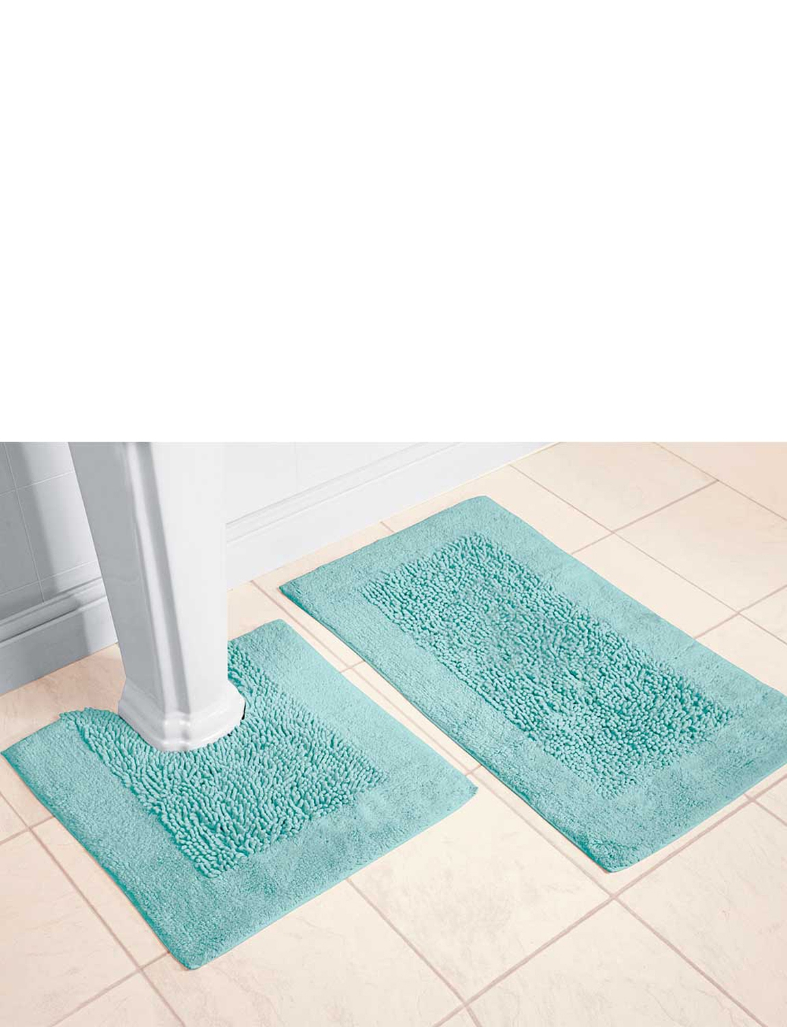 Chenille Bath And Pedestal Mats