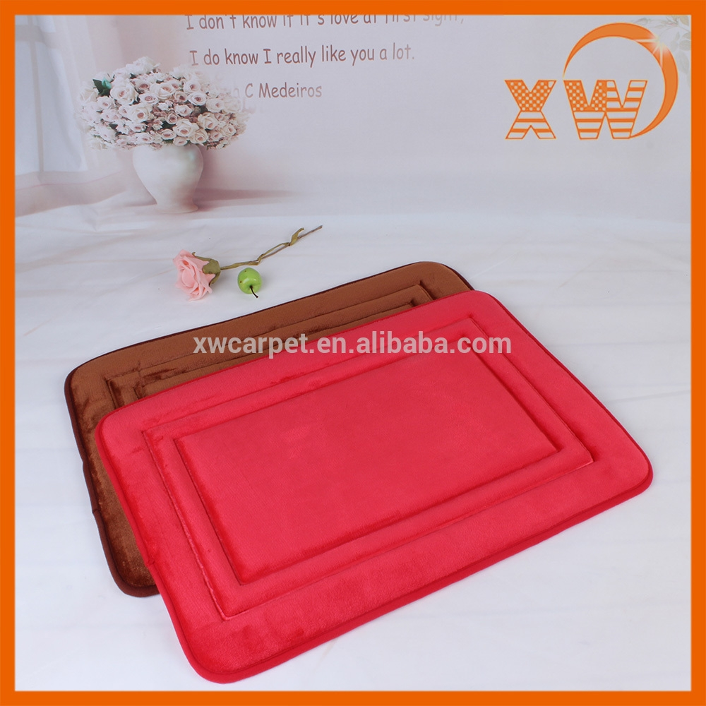 Color Changing Bath Mat Red