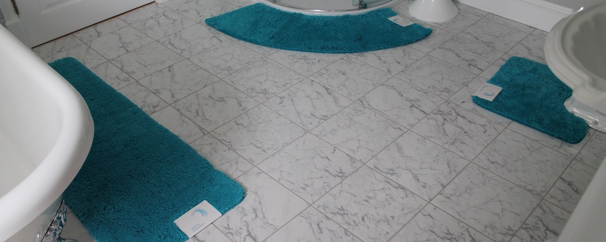 Curved Bath Mat For Quadrant Shower
