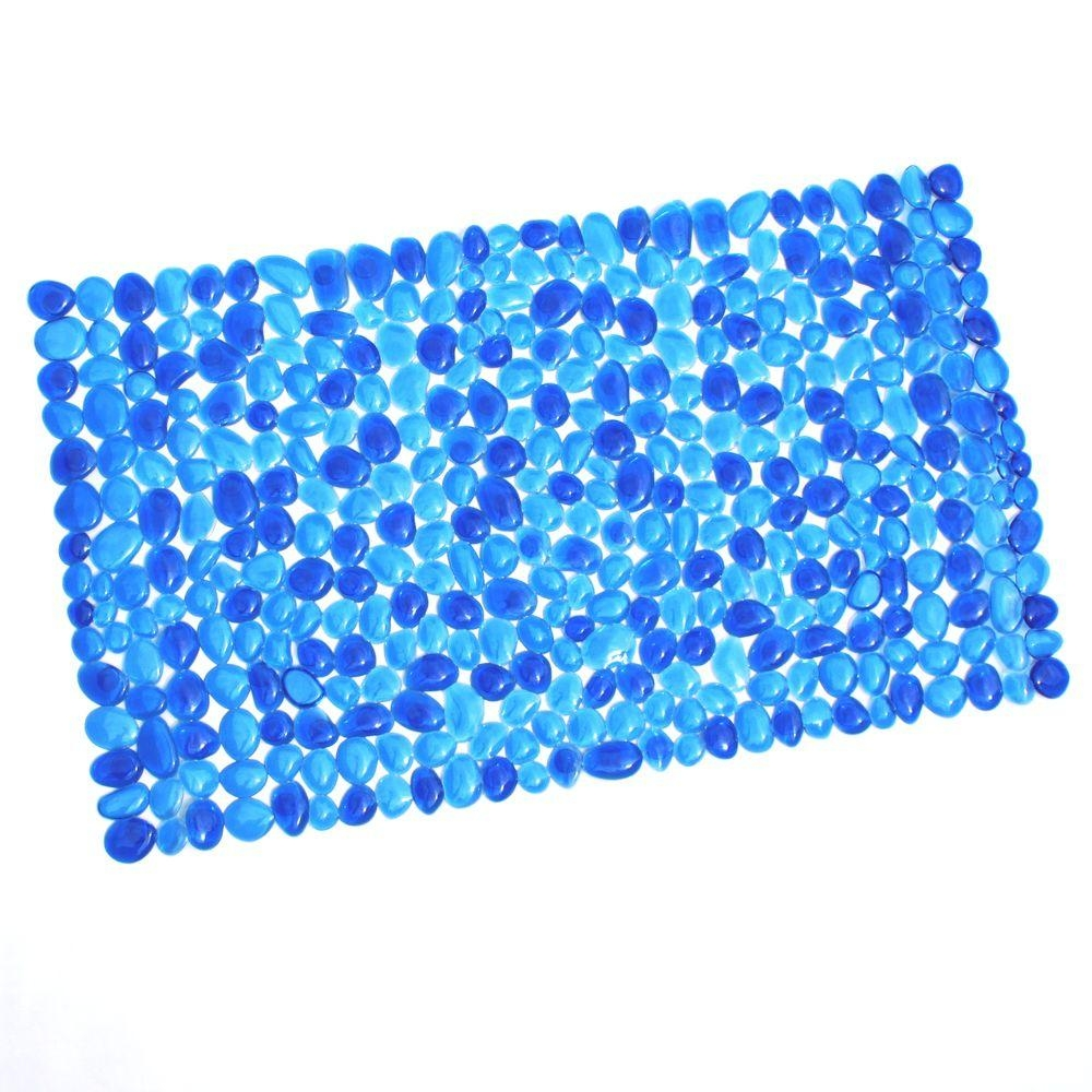 Electric Blue Bath Mat