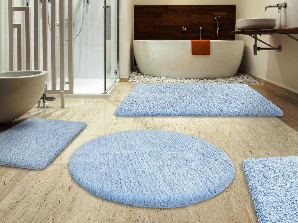 Extra Large Round Bathroom Mats