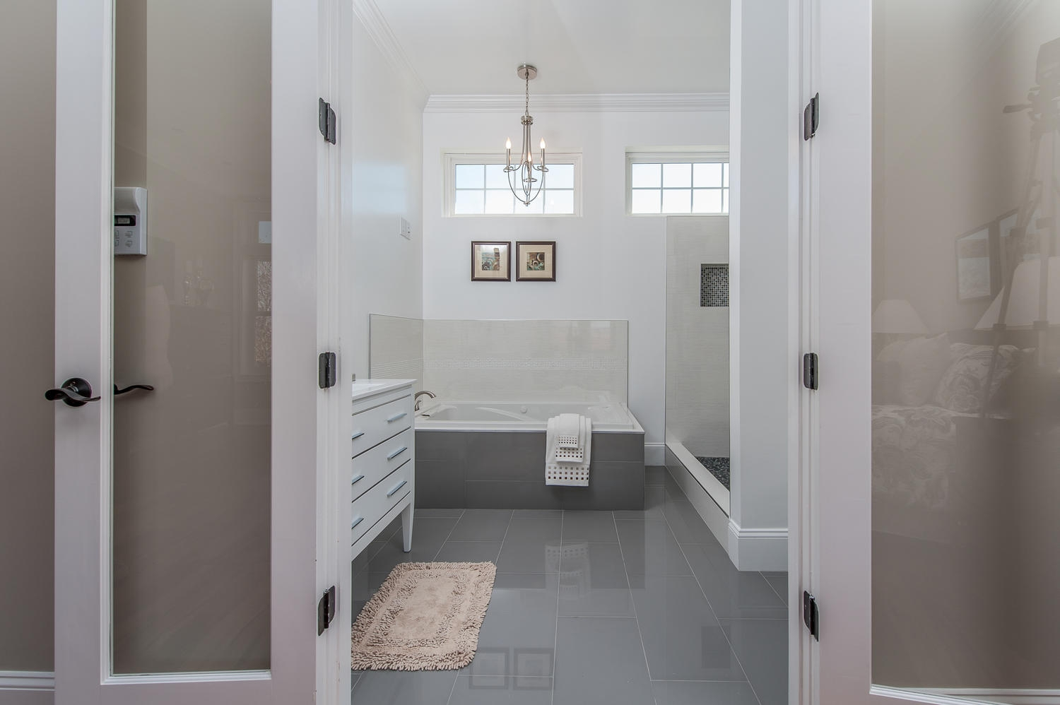 French Doors For Master Bathroom