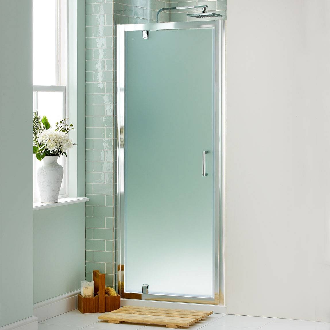 Frosted Glass Bathroom Doors