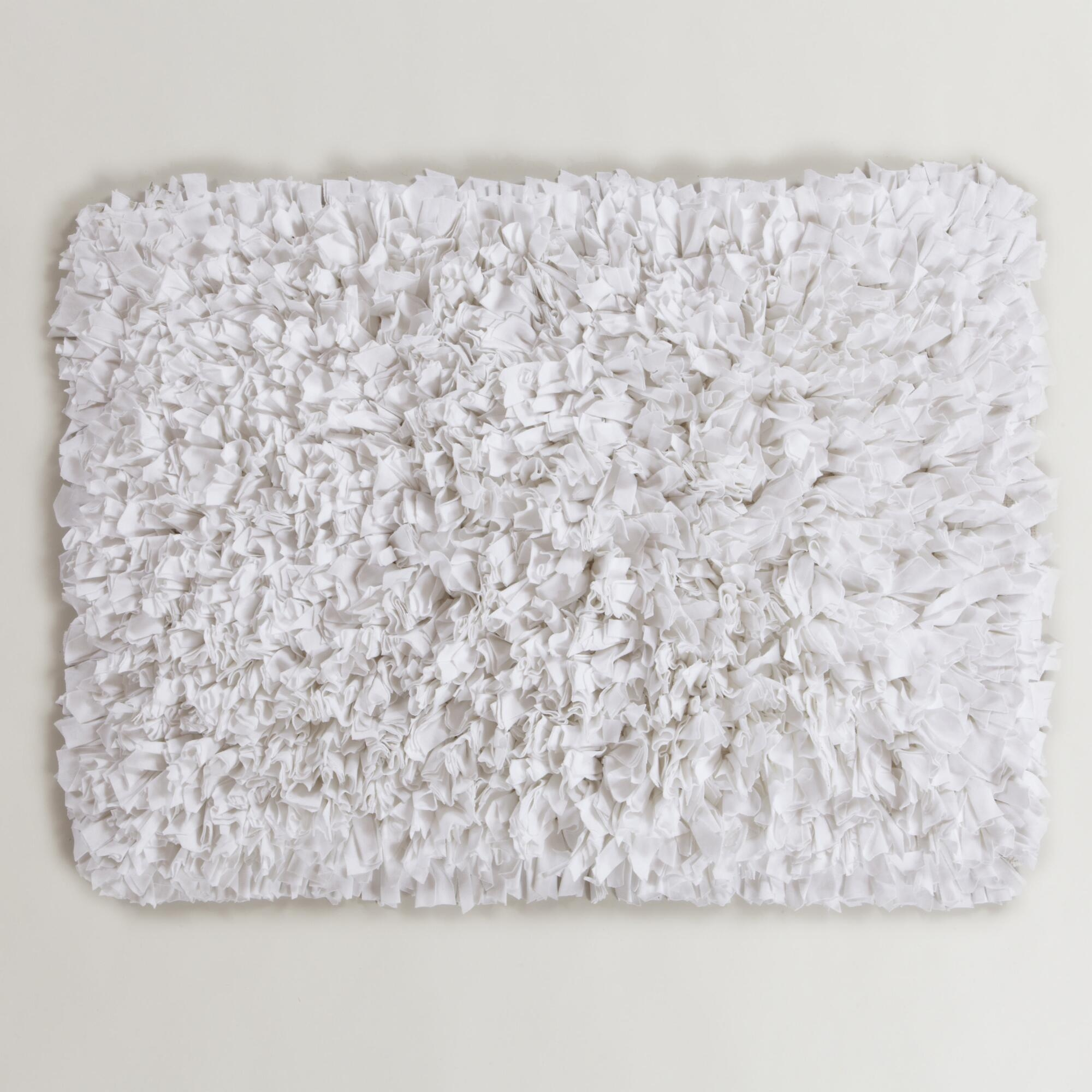 Permalink to Gray And White Bath Mat