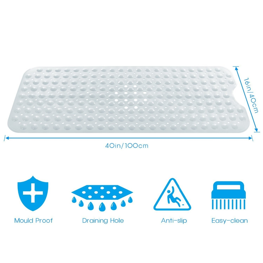 Large Anti Slip Bath Mat1000 X 1000