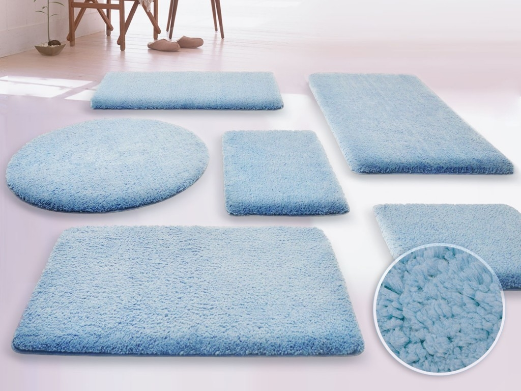 Large Fluffy Bath Mats