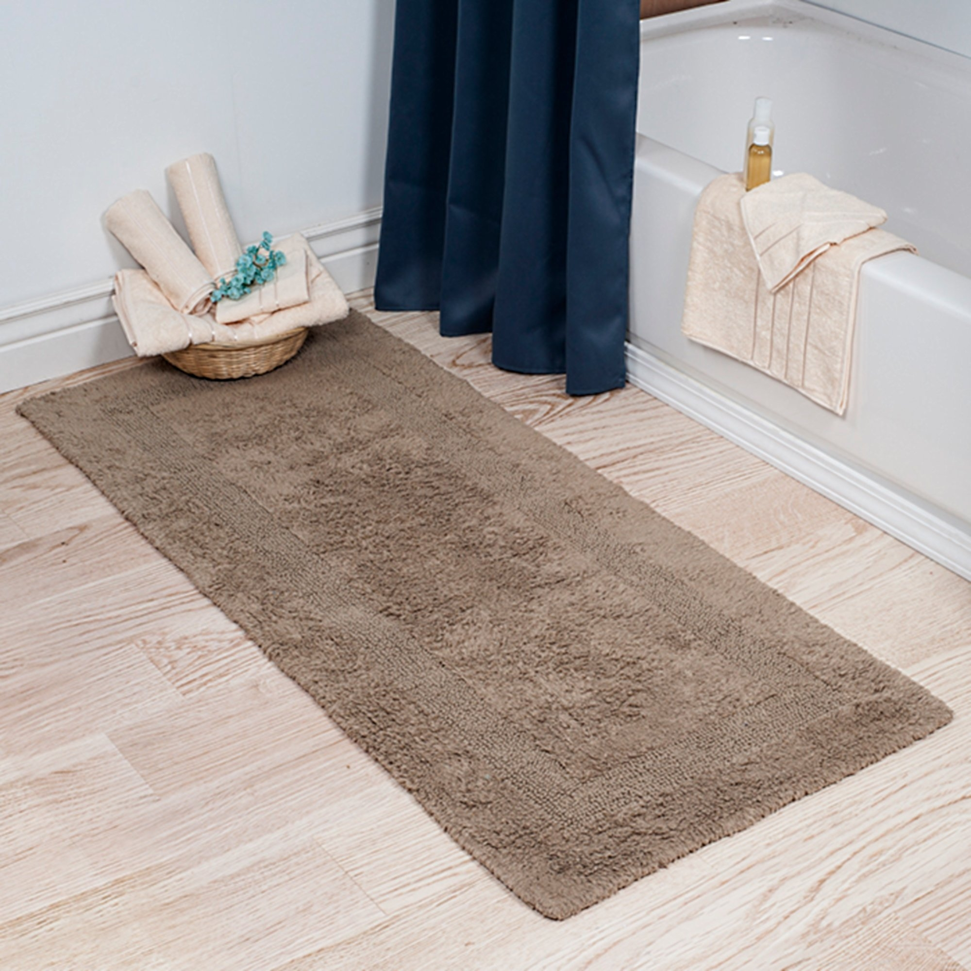Long Thin Bath Mat