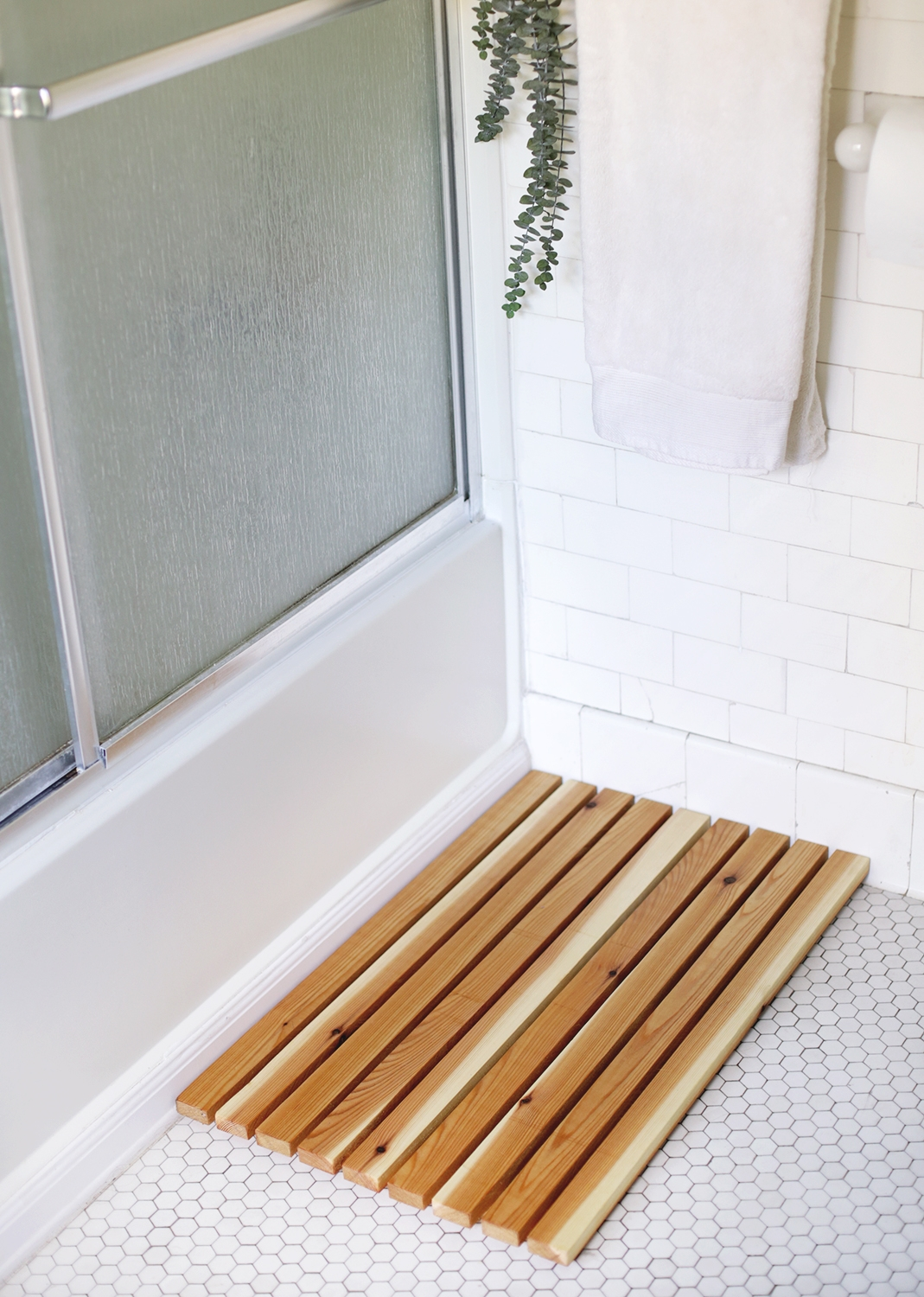 Make A Wooden Bath Mat