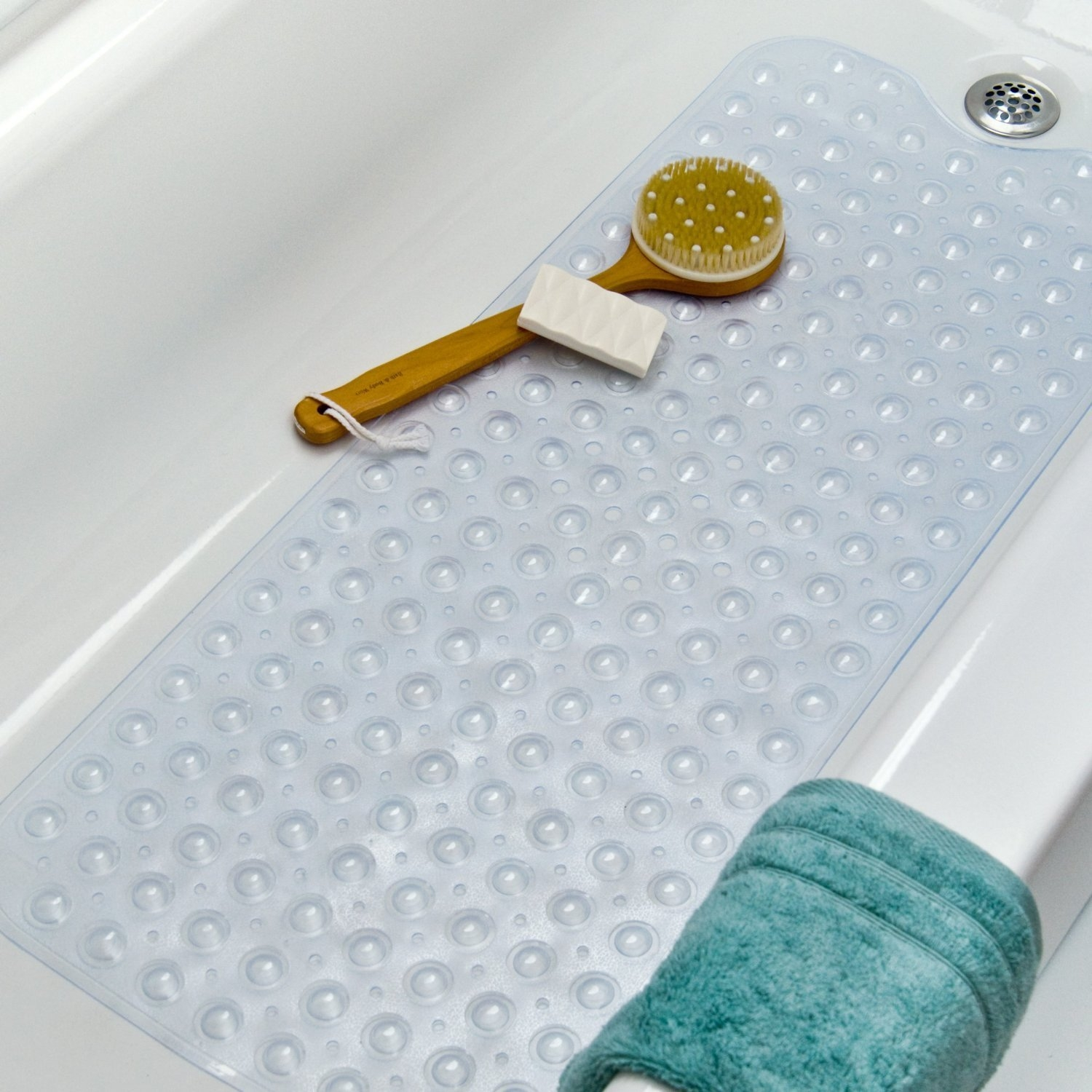 Non Slip Bath Mat Extra Long