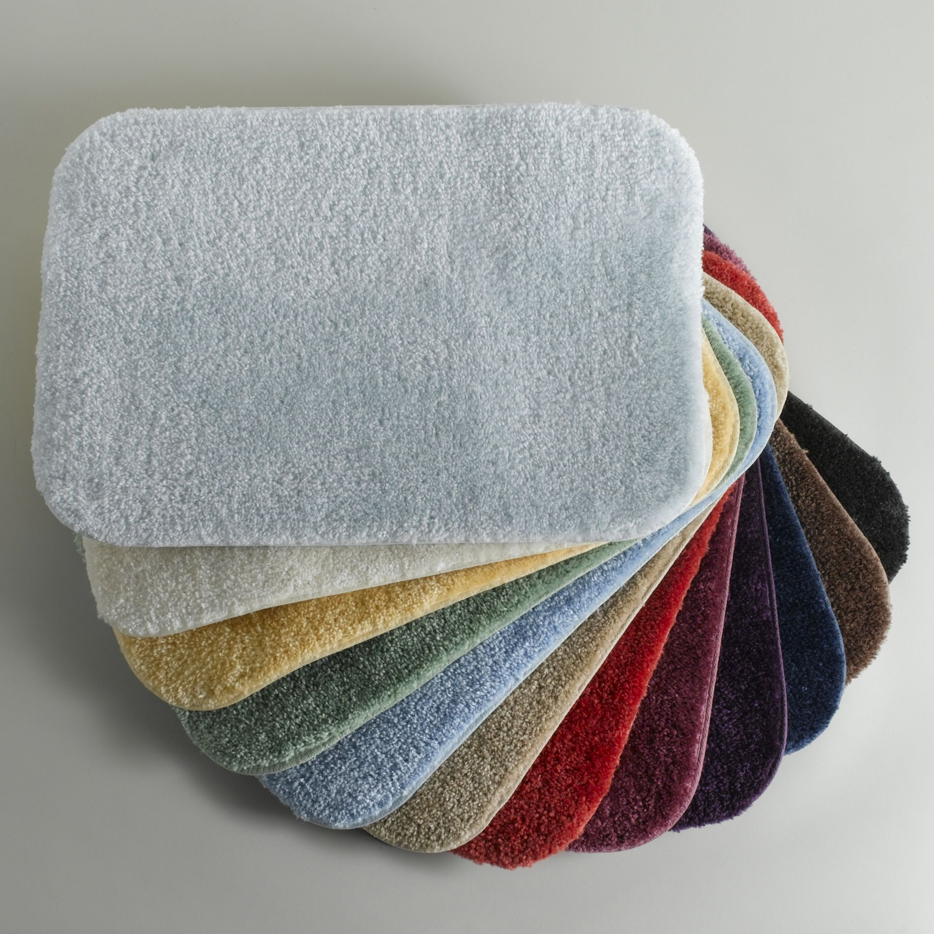 Oval Bathroom Mats