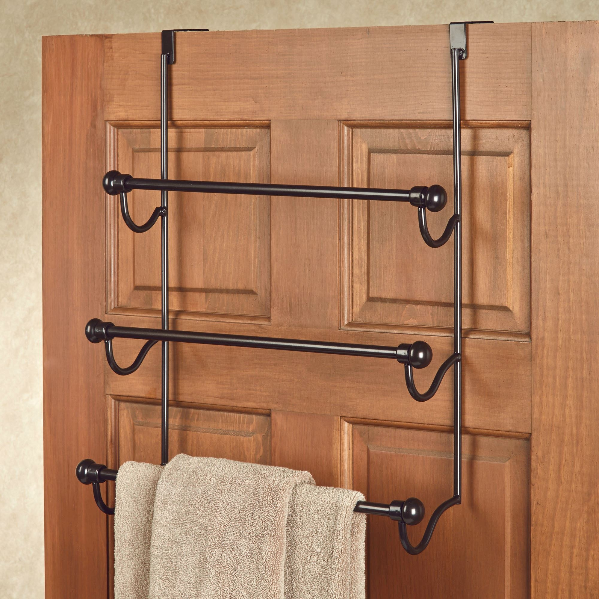Over The Door Bath Towel Holderbronze over the door three bar towel rack