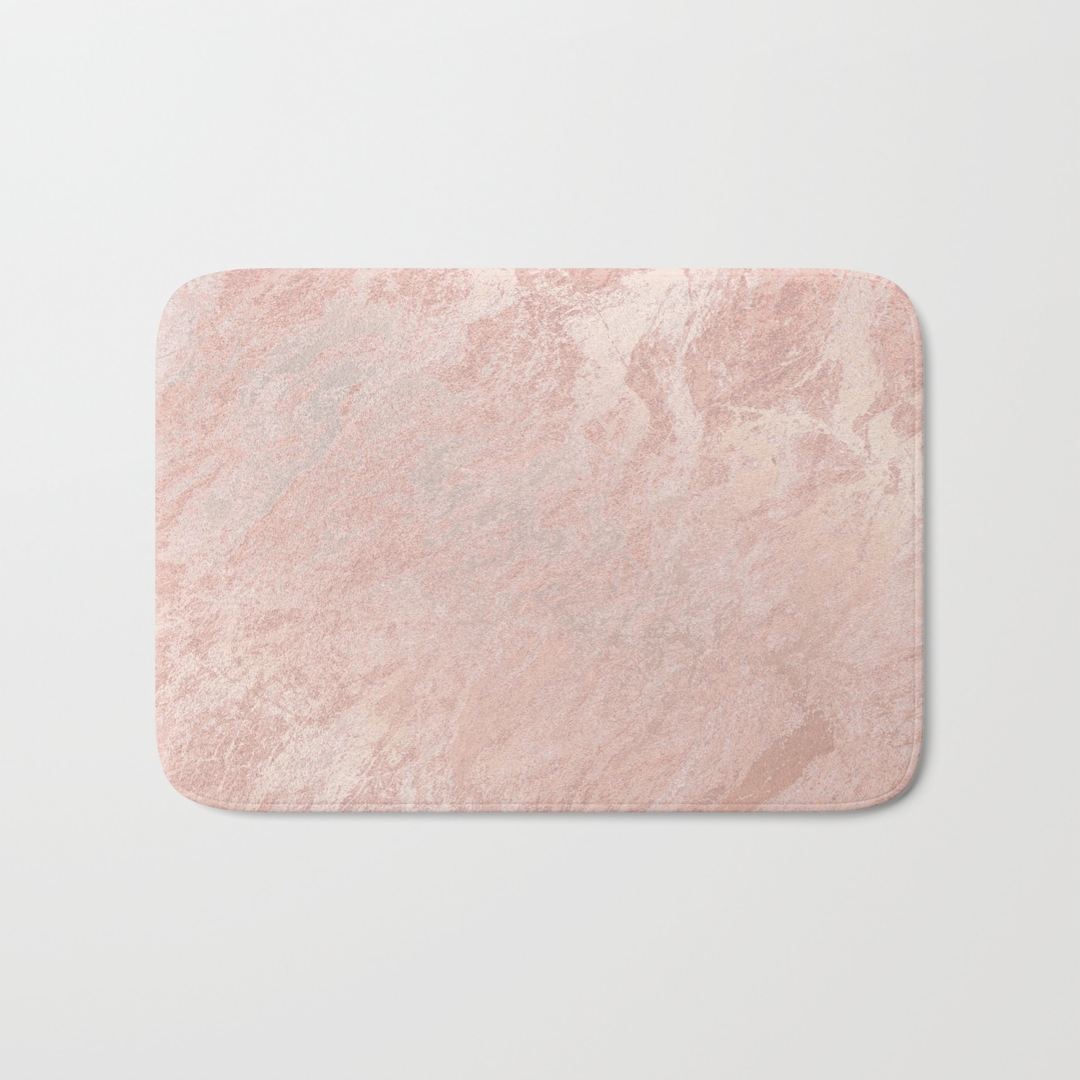 Permalink to Pale Peach Bath Mat