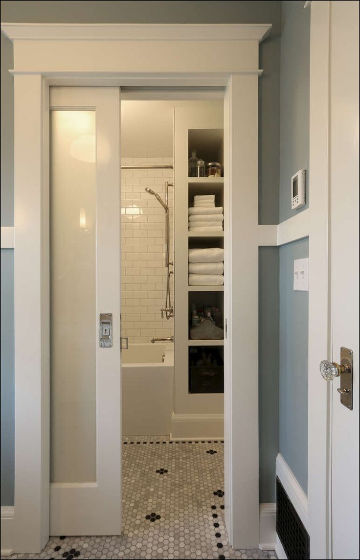 Pocket Door For Small Bathroom